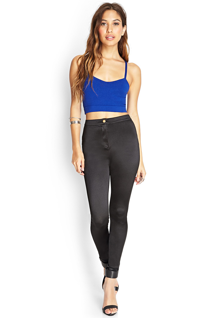 Black Satin Pants | Pant So