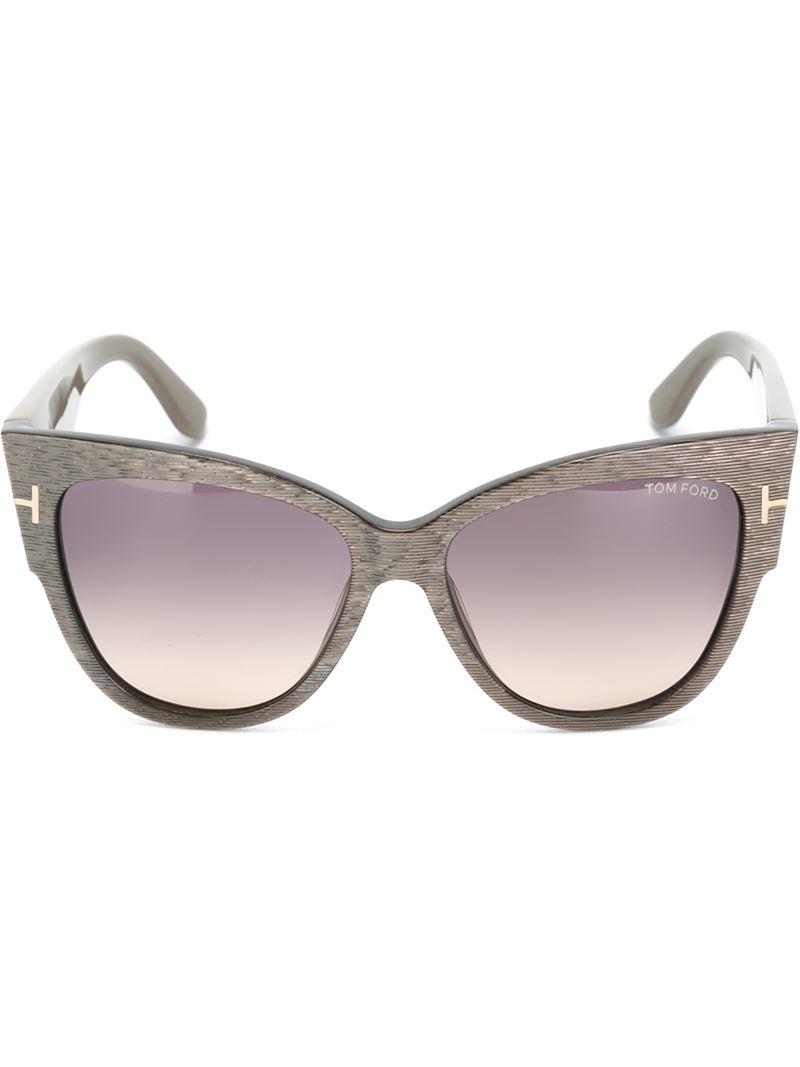 d03aa28b45 Lyst - Tom Ford  anoushka  Sunglasses in Gray