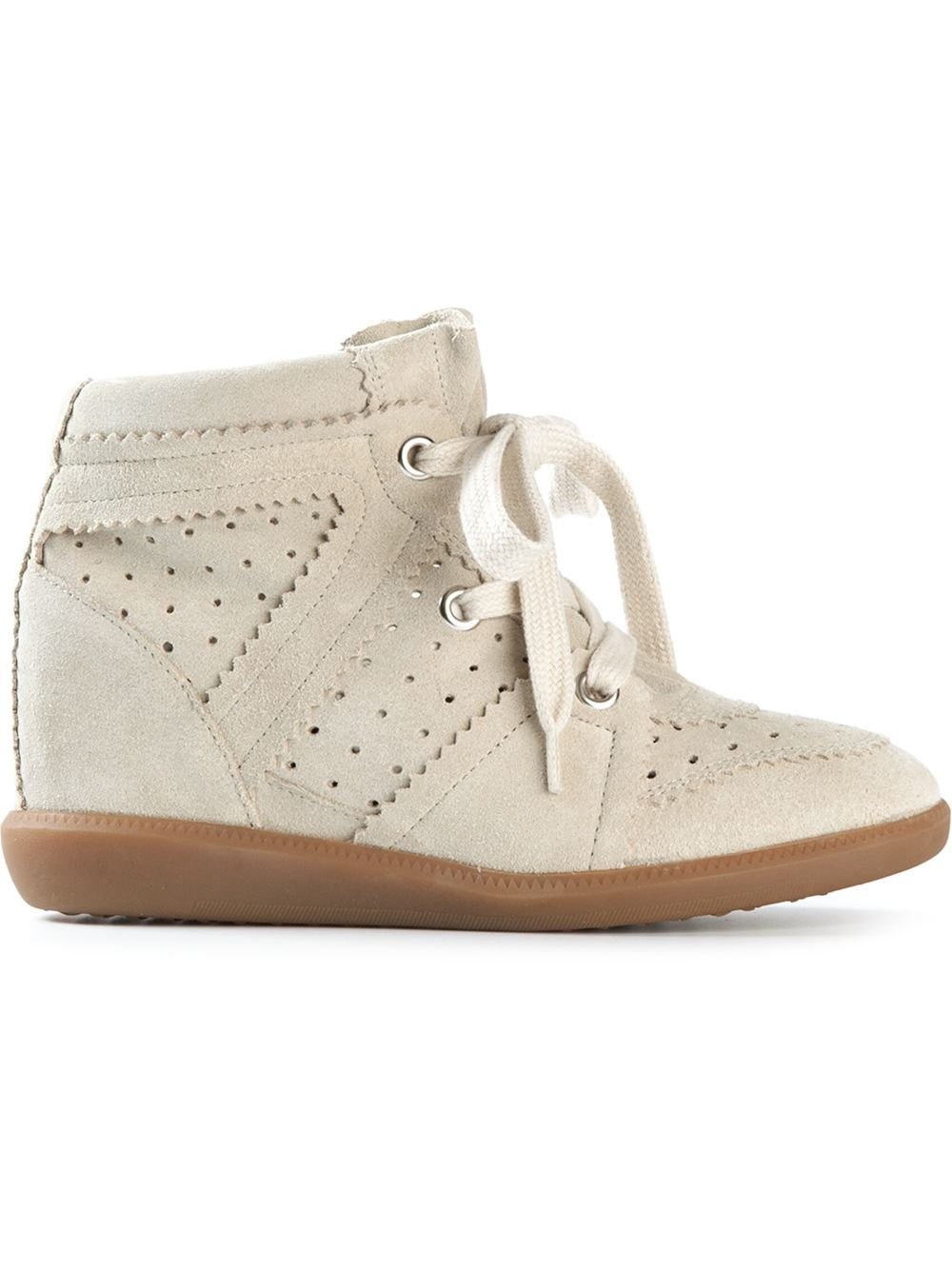 afdea8165de Gallery. Previously sold at: Farfetch · Women's Wedge Sneakers Women's Isabel  Marant Bobby