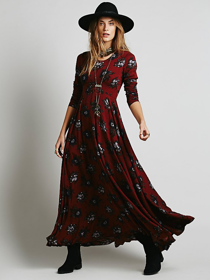 Lyst Free People First Kiss Dress In Red