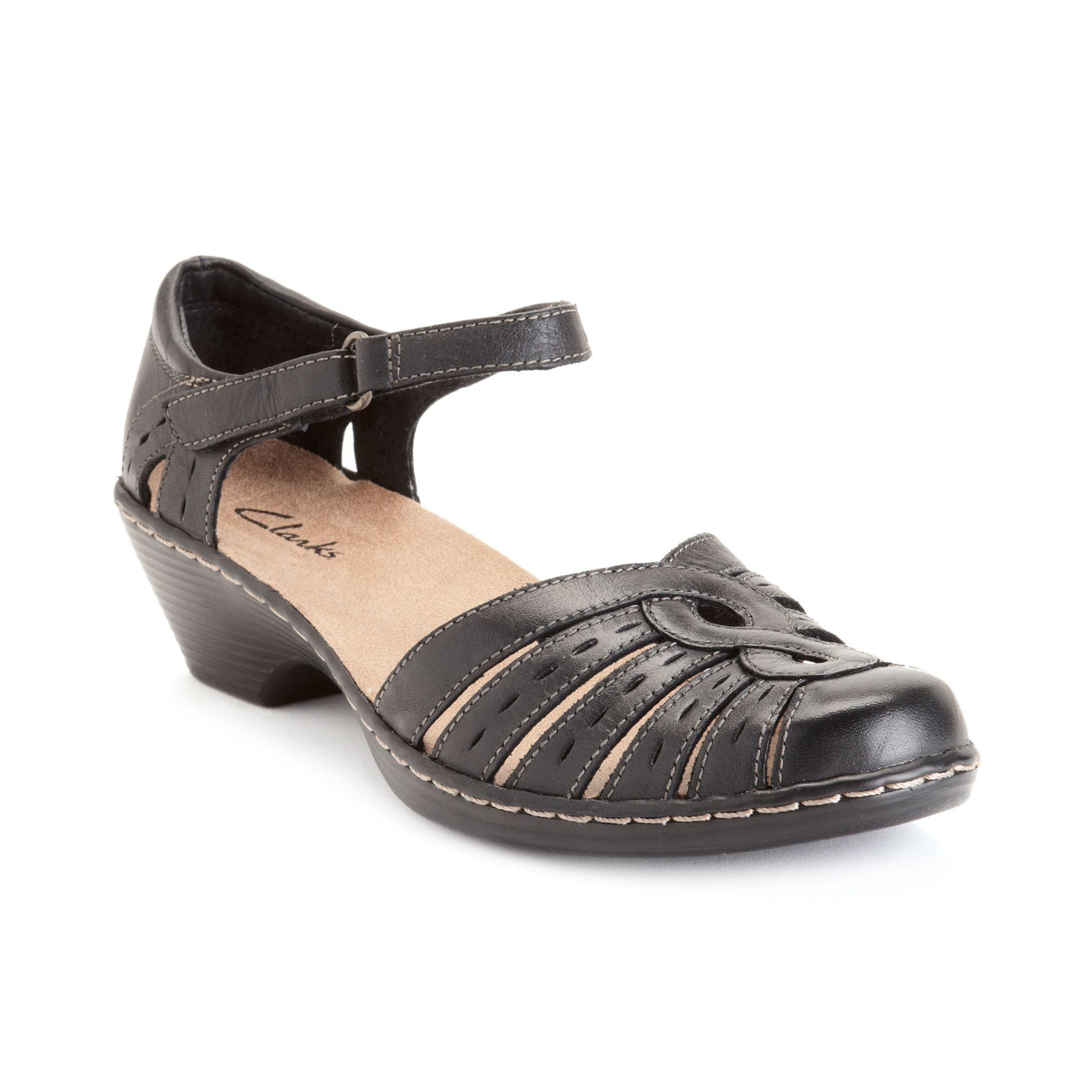 e15ee22779a3 Lyst - Clarks Womens Shoes Wendy River Sandals in Black