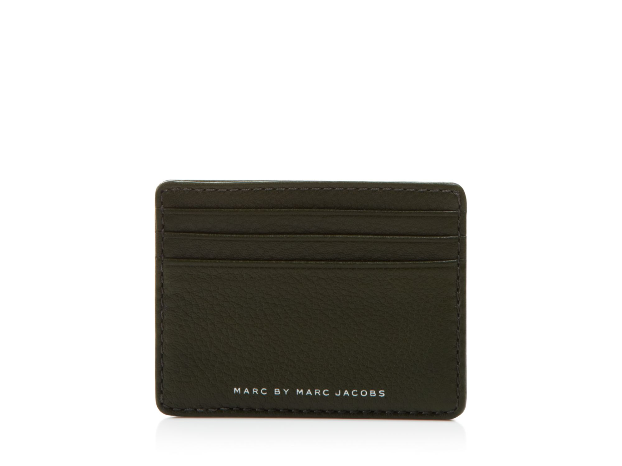 d3aee04bb5797 Lyst - Marc By Marc Jacobs Textured Leather Card Holder in Black for Men