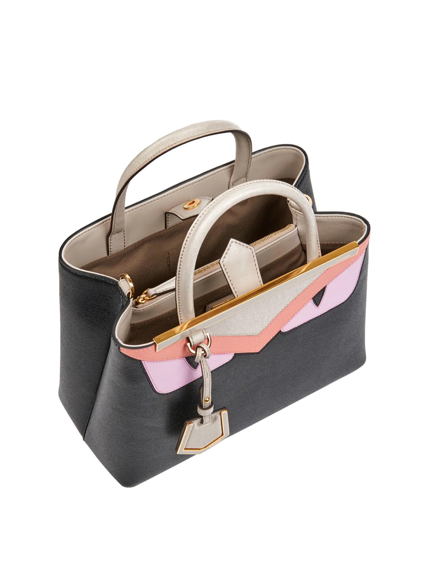 Lyst Fendi Petite 2jours Bag Bugs Leather Cross Body Bag
