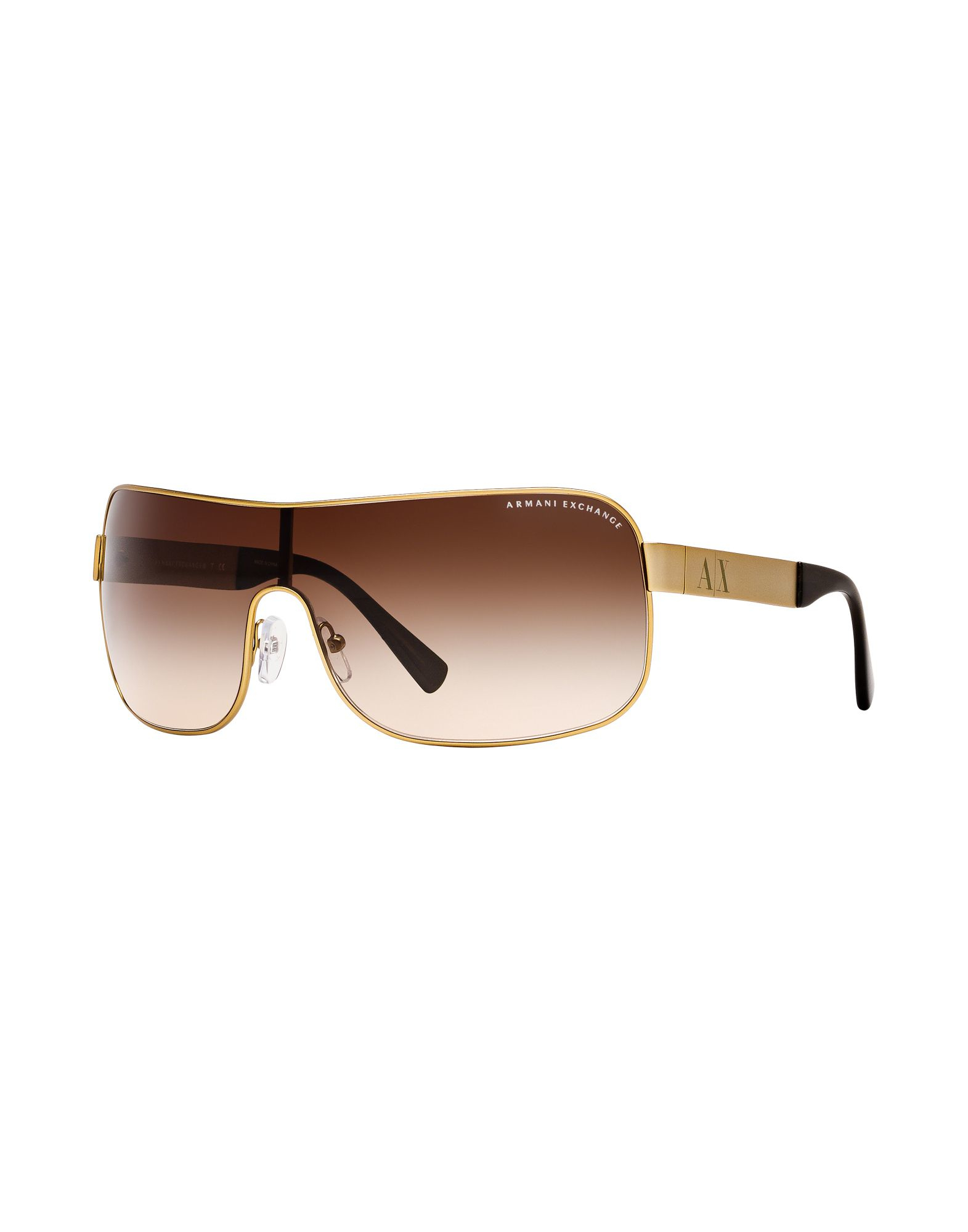 Armani exchange Sunglasses in Gold for Men Lyst
