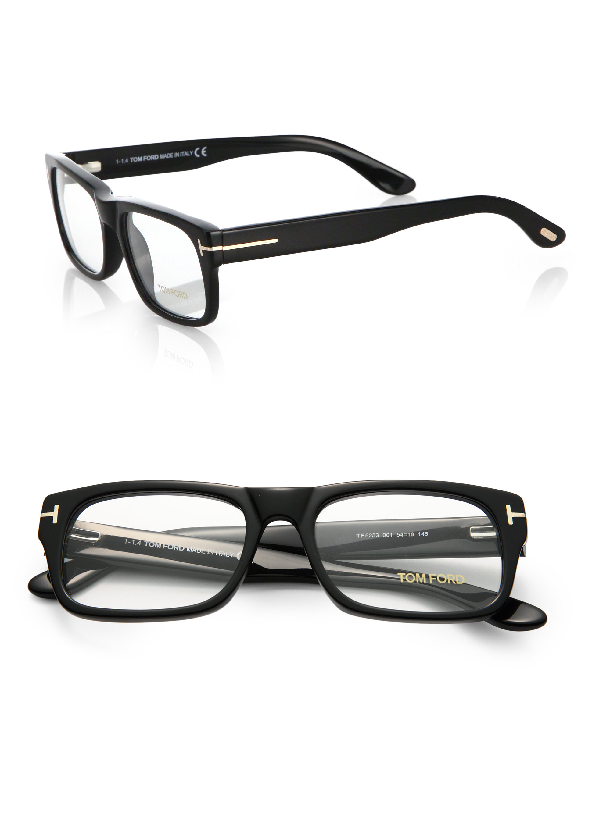 Lyst - Tom Ford 5253 Bold Optical Frames in Black for Men