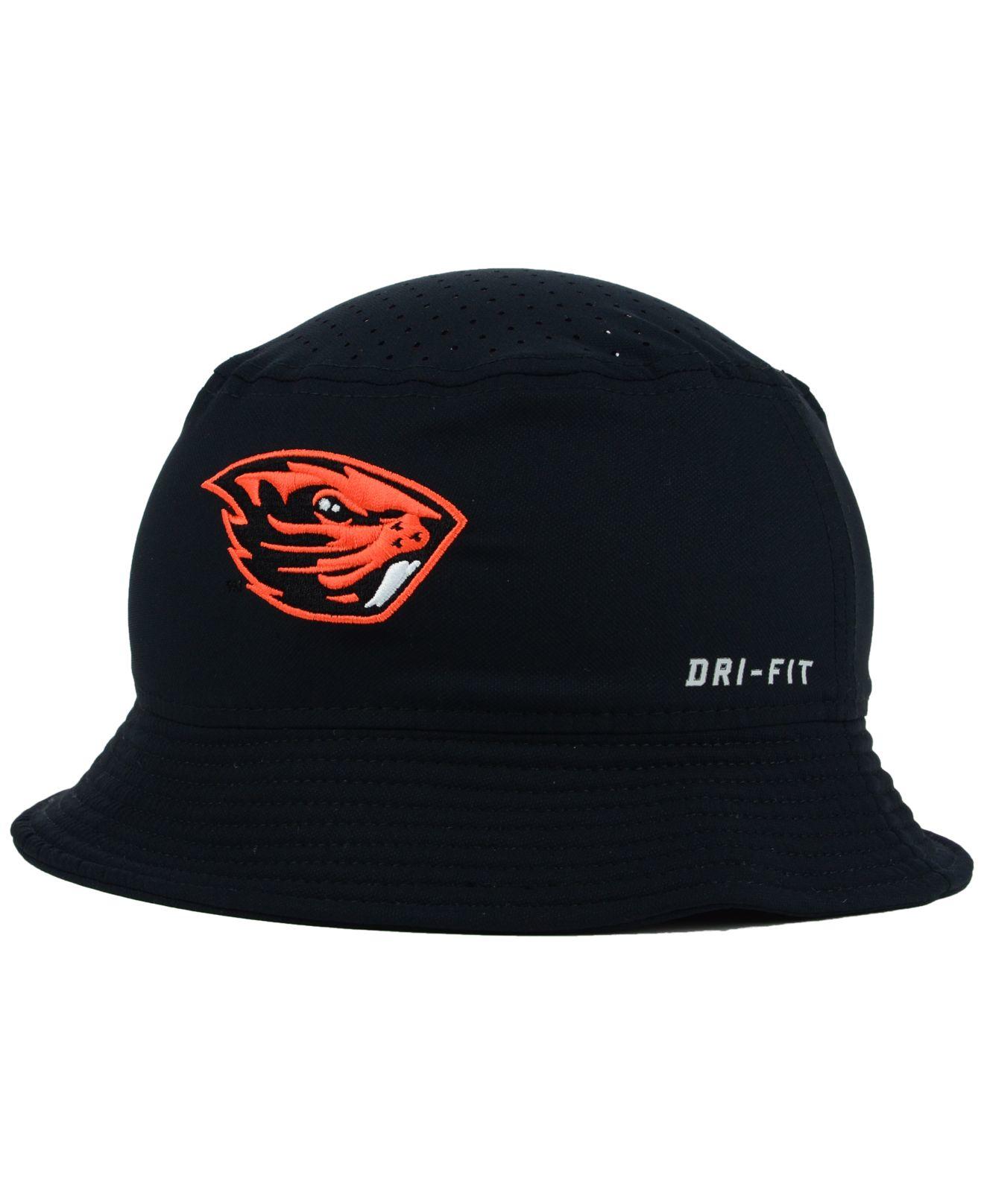 da8548ba3a9e3 ... discount code for lyst nike oregon state beavers vapor bucket hat in  black for men 4b9a5