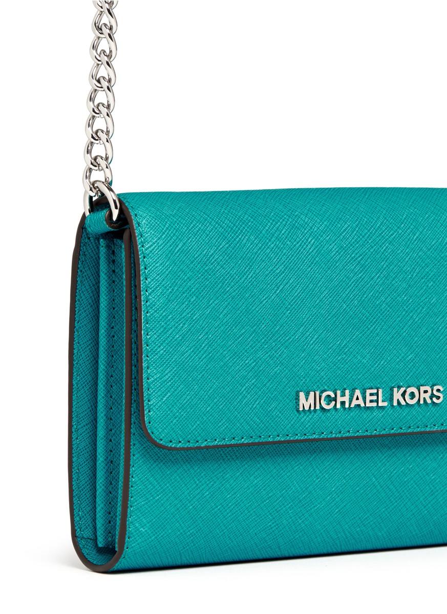 Michael Kors Jet Set Travel Saffiano Leather Phone