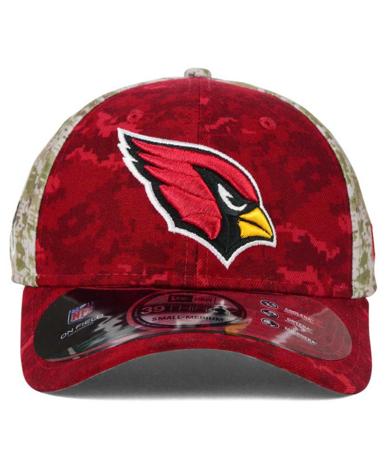 innovative design f8728 d343d ... 50% off coupon for lyst ktz arizona cardinals salute to service 39thirty  cap in green