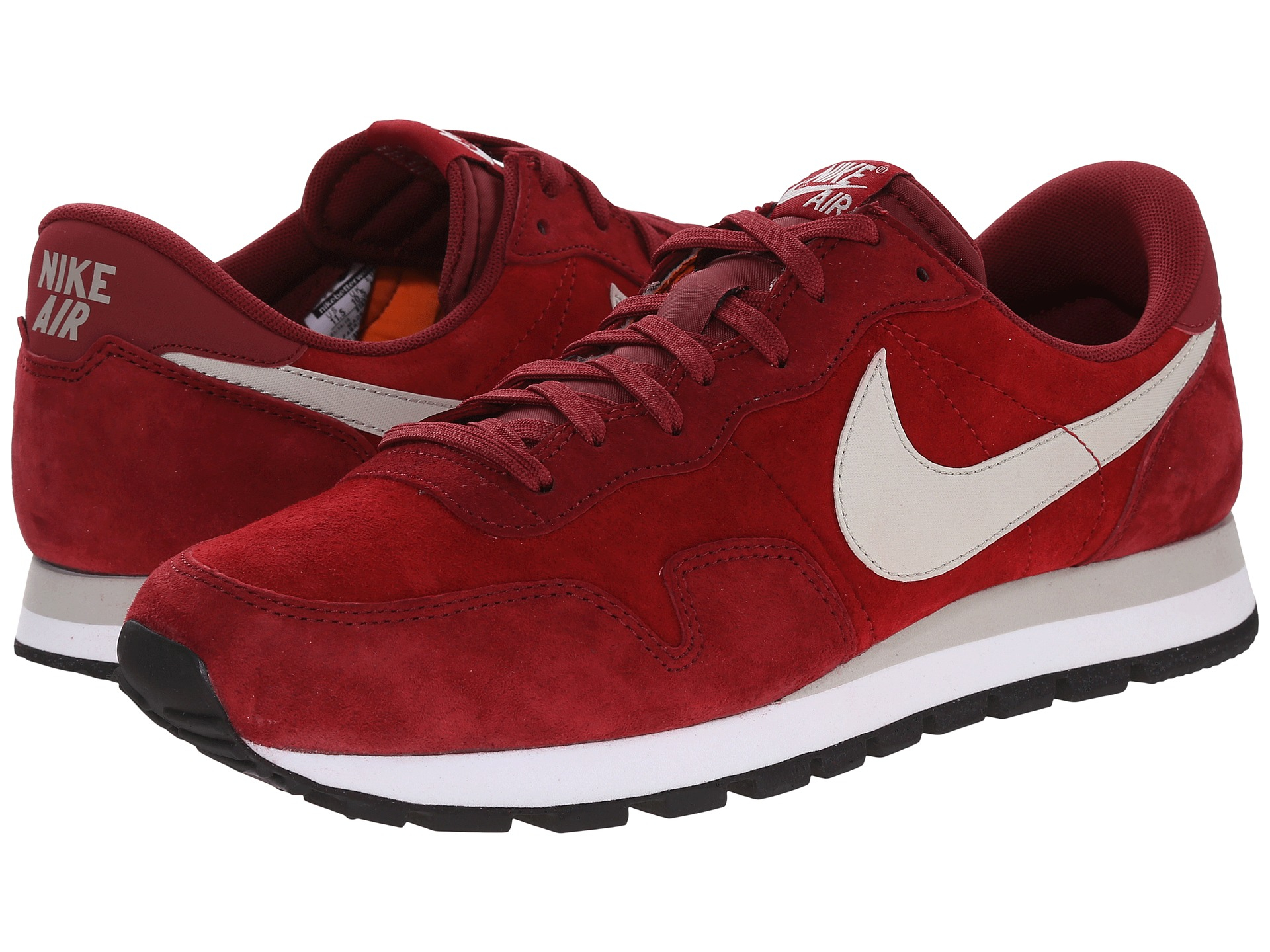more photos 27122 4b80a Lyst - Nike Air Pegasus 83 Leather in Red for Men