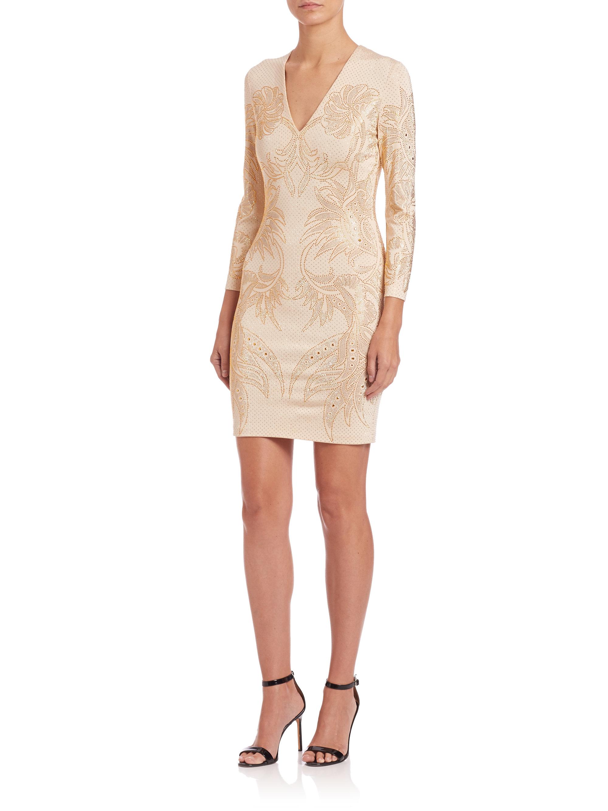 Just Cavalli Woman Asymmetric Lace-trimmed Cotton Dress Navy Size 42 Just Cavalli yMEp0iwPg7