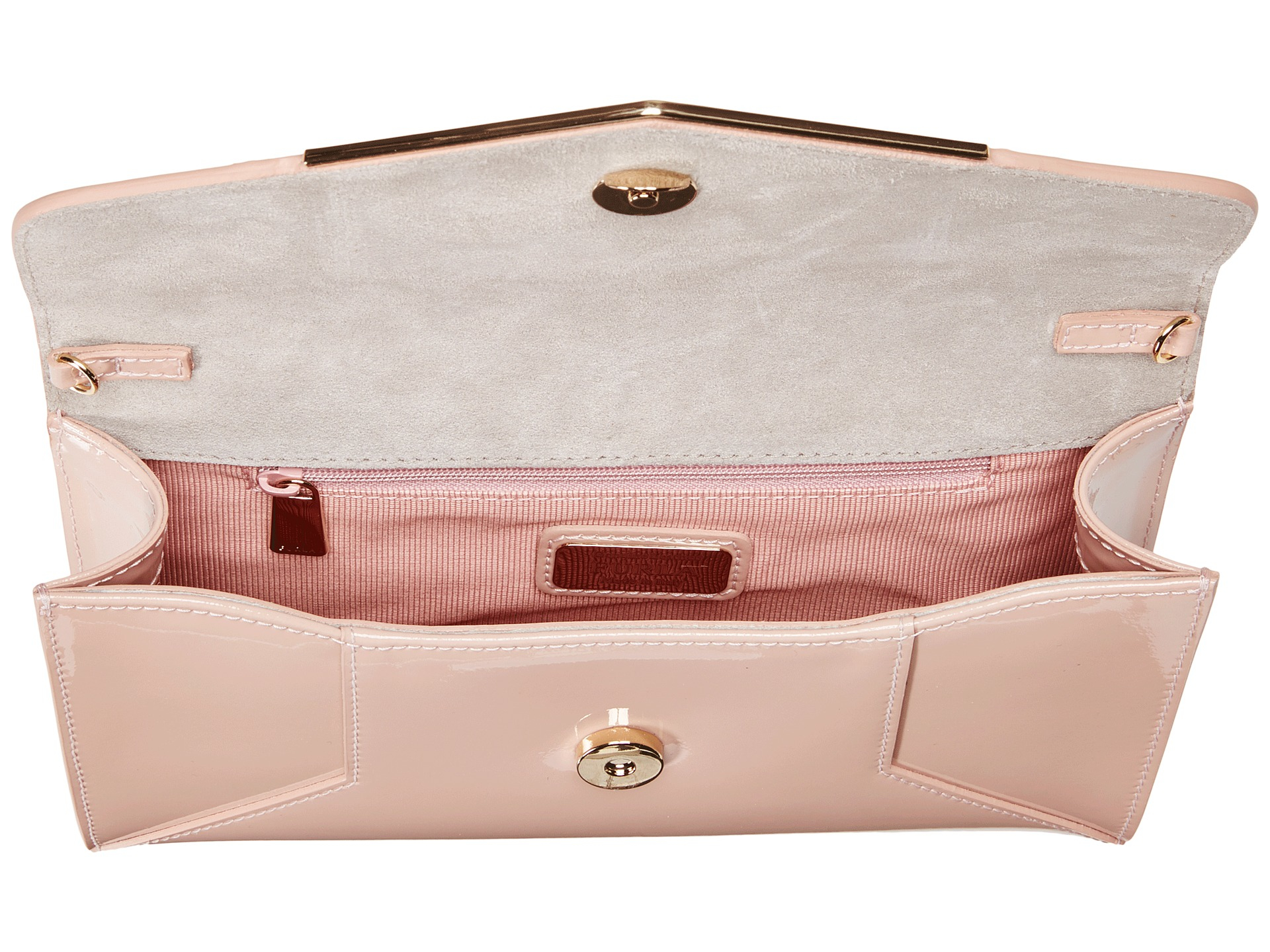 83f234c1a262 Lyst - Furla Cherie Small Envelope Pochette in Pink