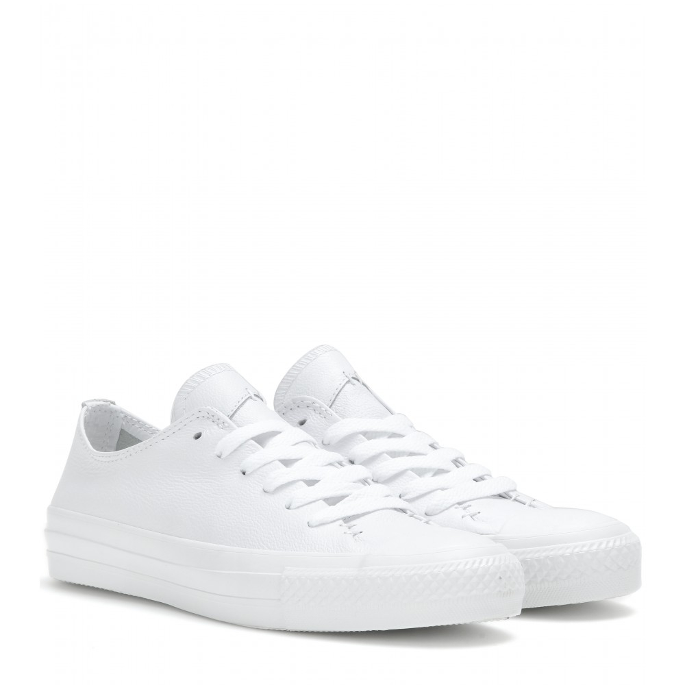 Converse Chuck Taylor All Star Low Leather Sneakers in ...