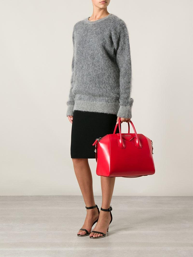 b4d8da10932c Previously sold at Farfetch · Womens Givenchy Antigona buy online 17b78  48a86  Givenchy - Antigona Mini Leather Shoulder Bag - Lyst ...