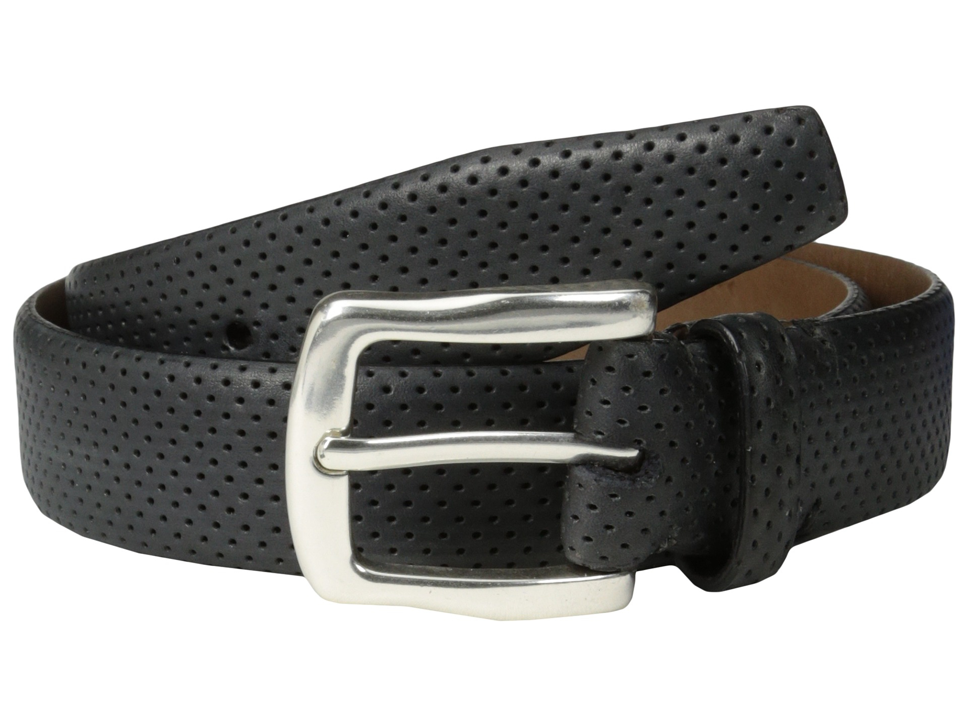will leather goods ollie belt in black lyst