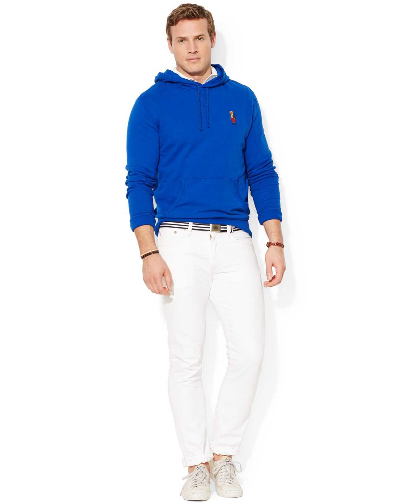 Lyst Polo Ralph Lauren Big And Tall Bear Pullover Fleece