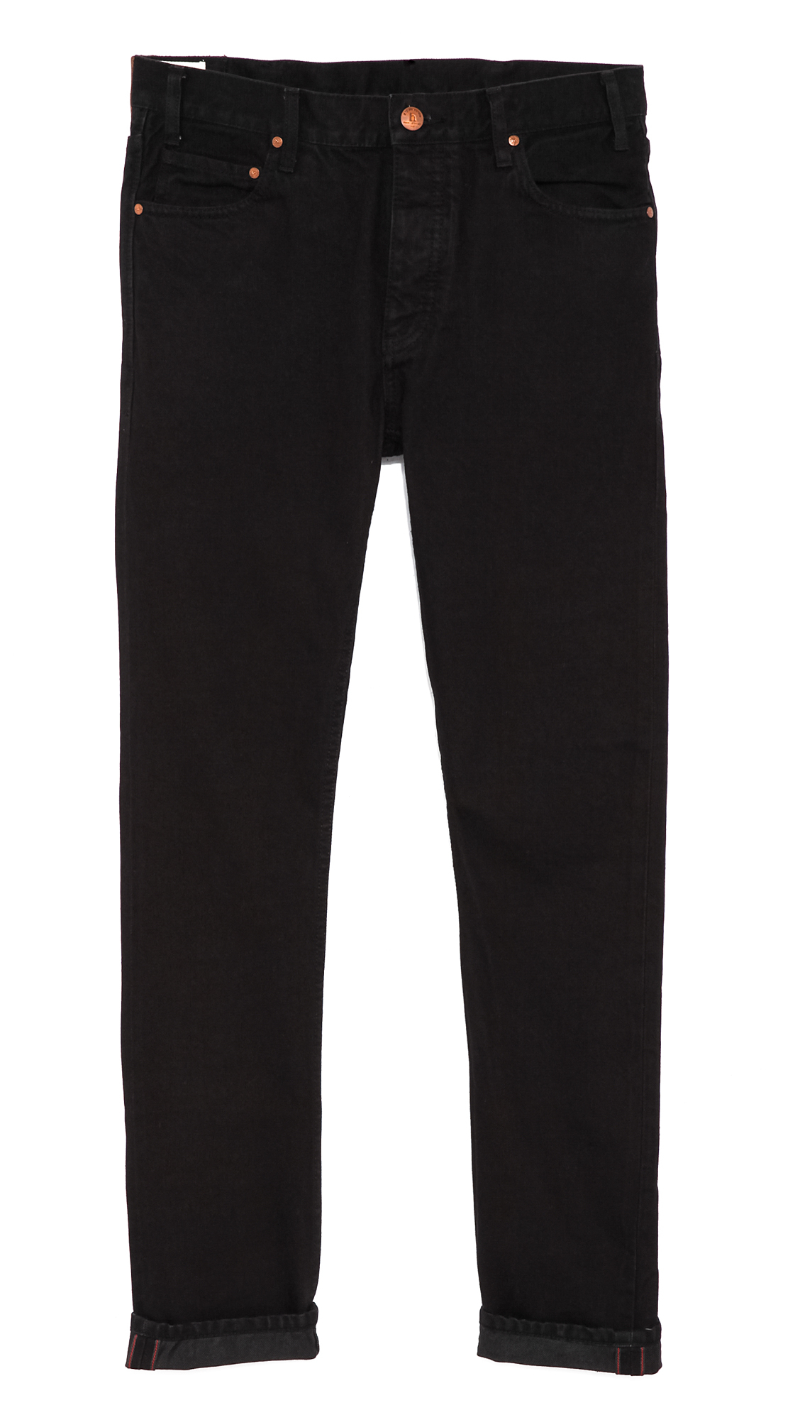 Fitted Black Jeans