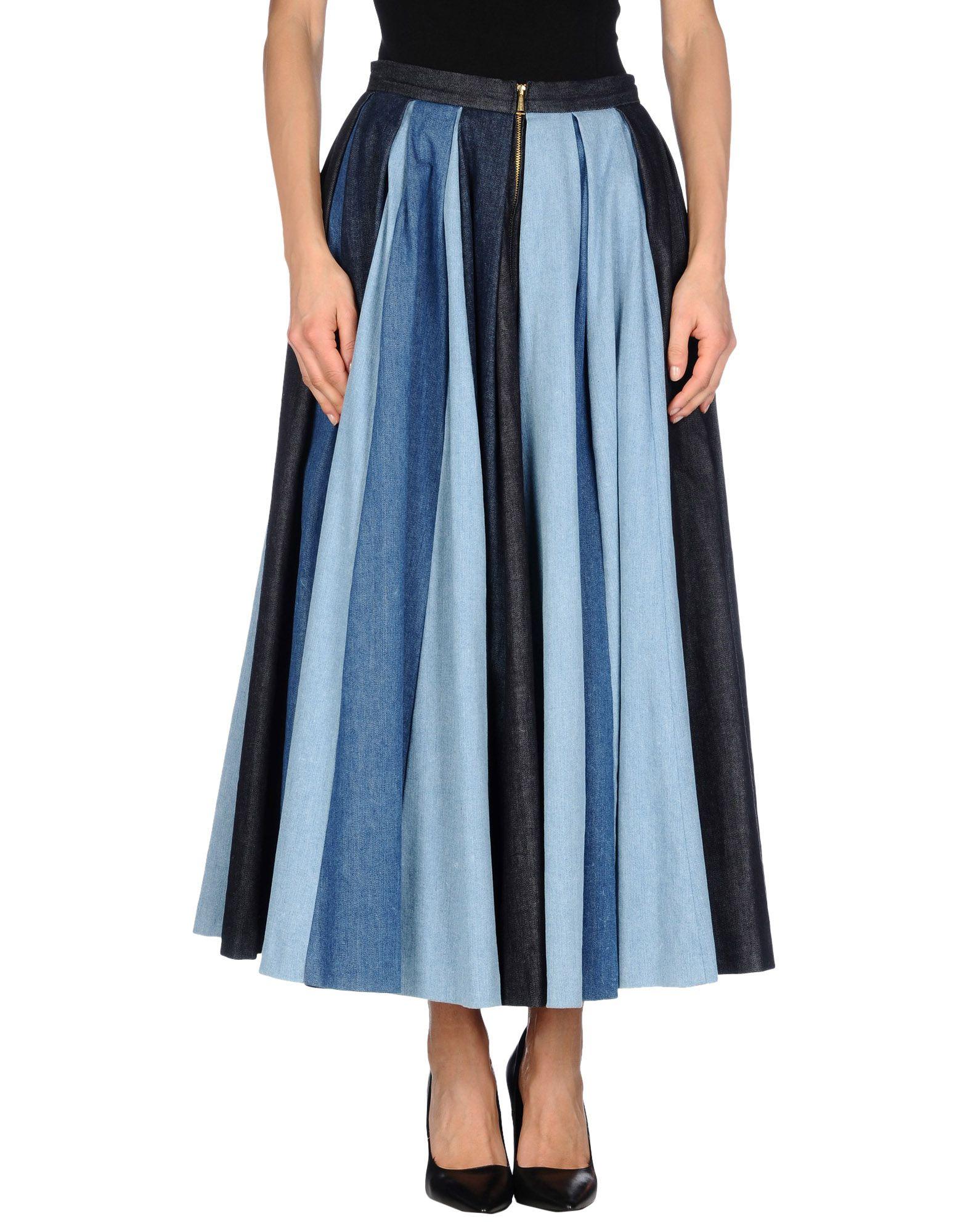 dsquared 178 blue denim skirt lyst