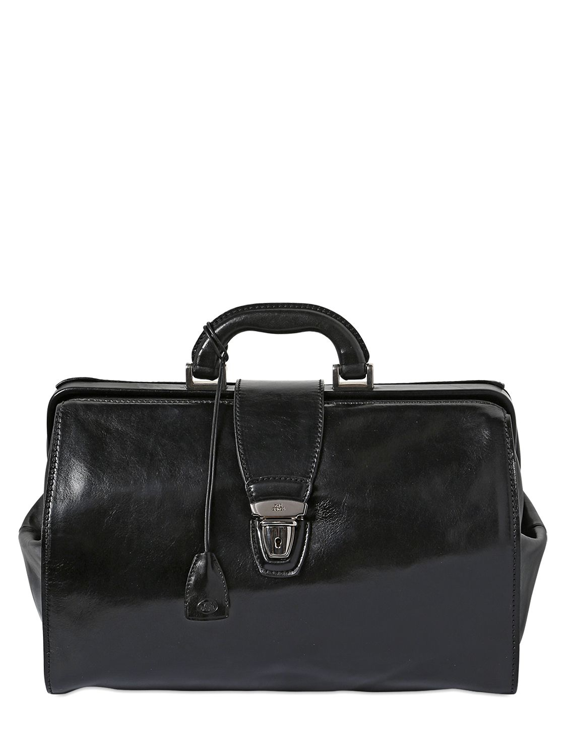 Lyst The Bridge Hand Painted Leather Classic Doctor Bag