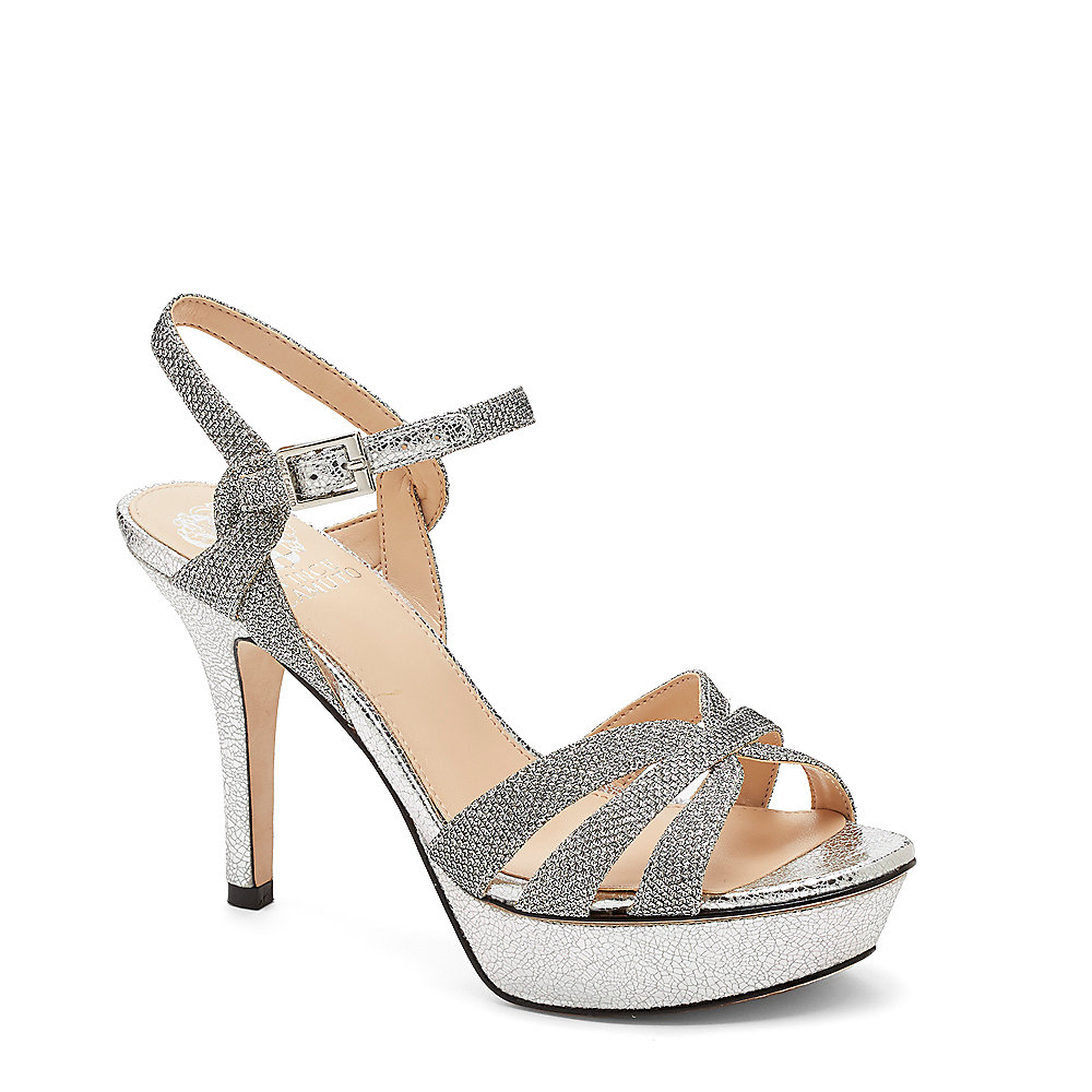 Vince Camuto Peppa Strappy Platform Heeled Sandal In