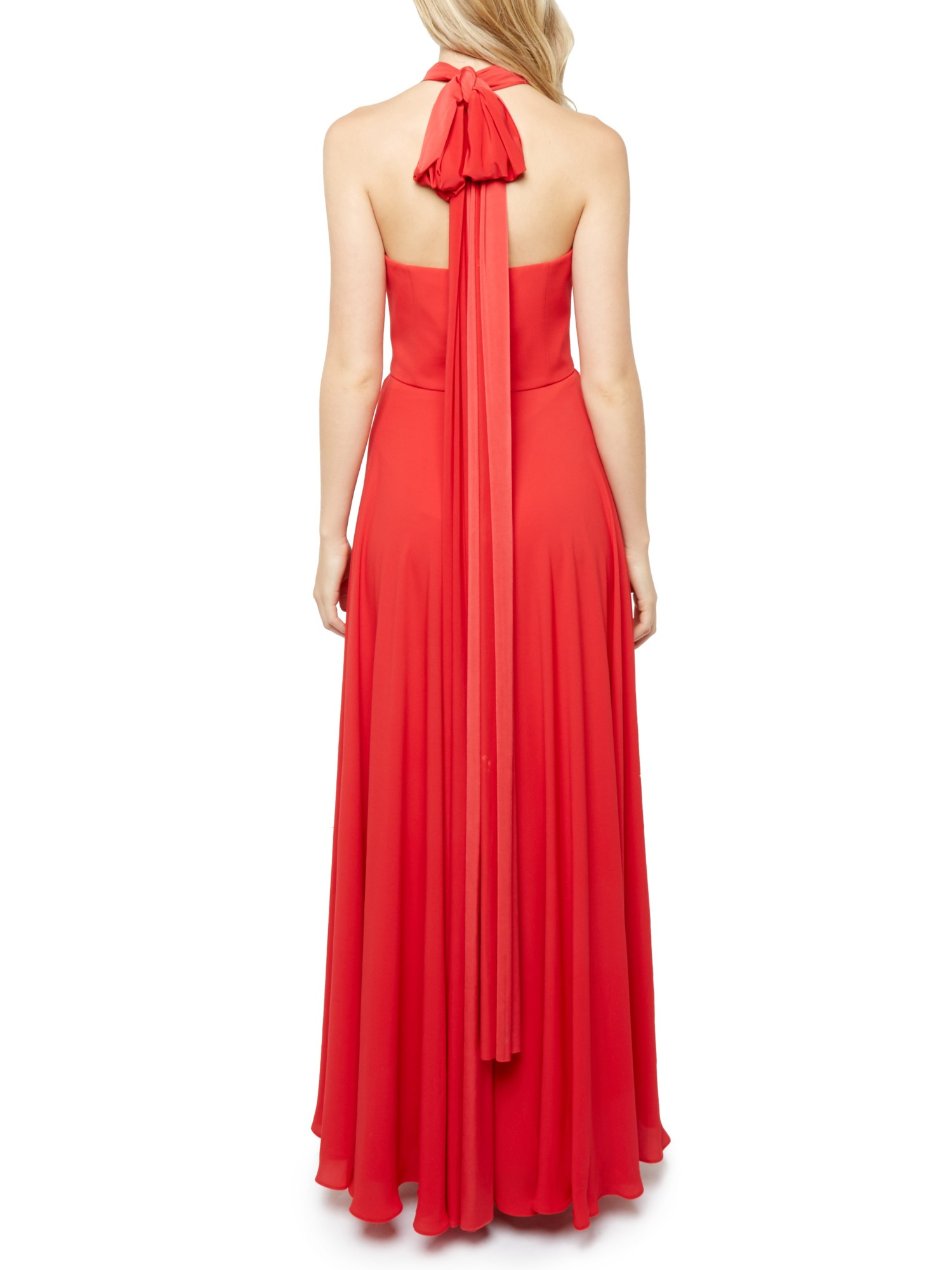 Lyst - Ted Baker Chleeo Multiway Evening Maxi Dress in Red