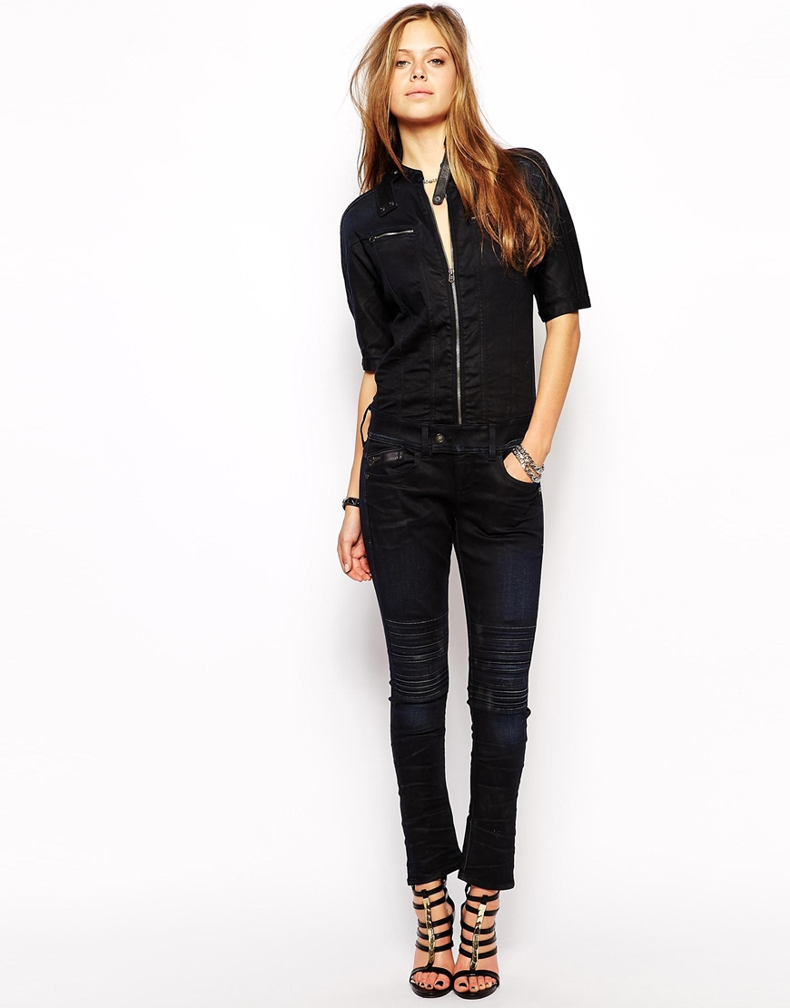 048ebafe4b9 Lyst - G-Star RAW G Star Denim Jumpsuit in Blue