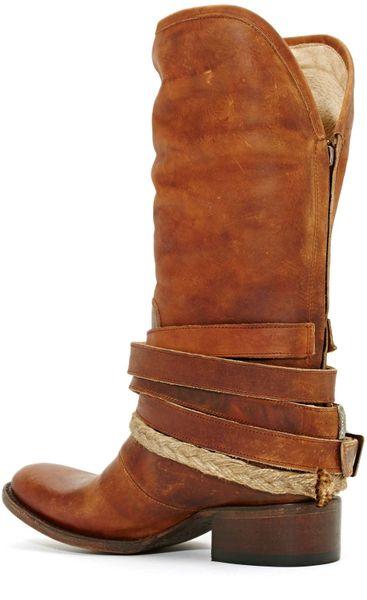 Nasty Gal Freebird Western World Boot In Brown Tan Lyst