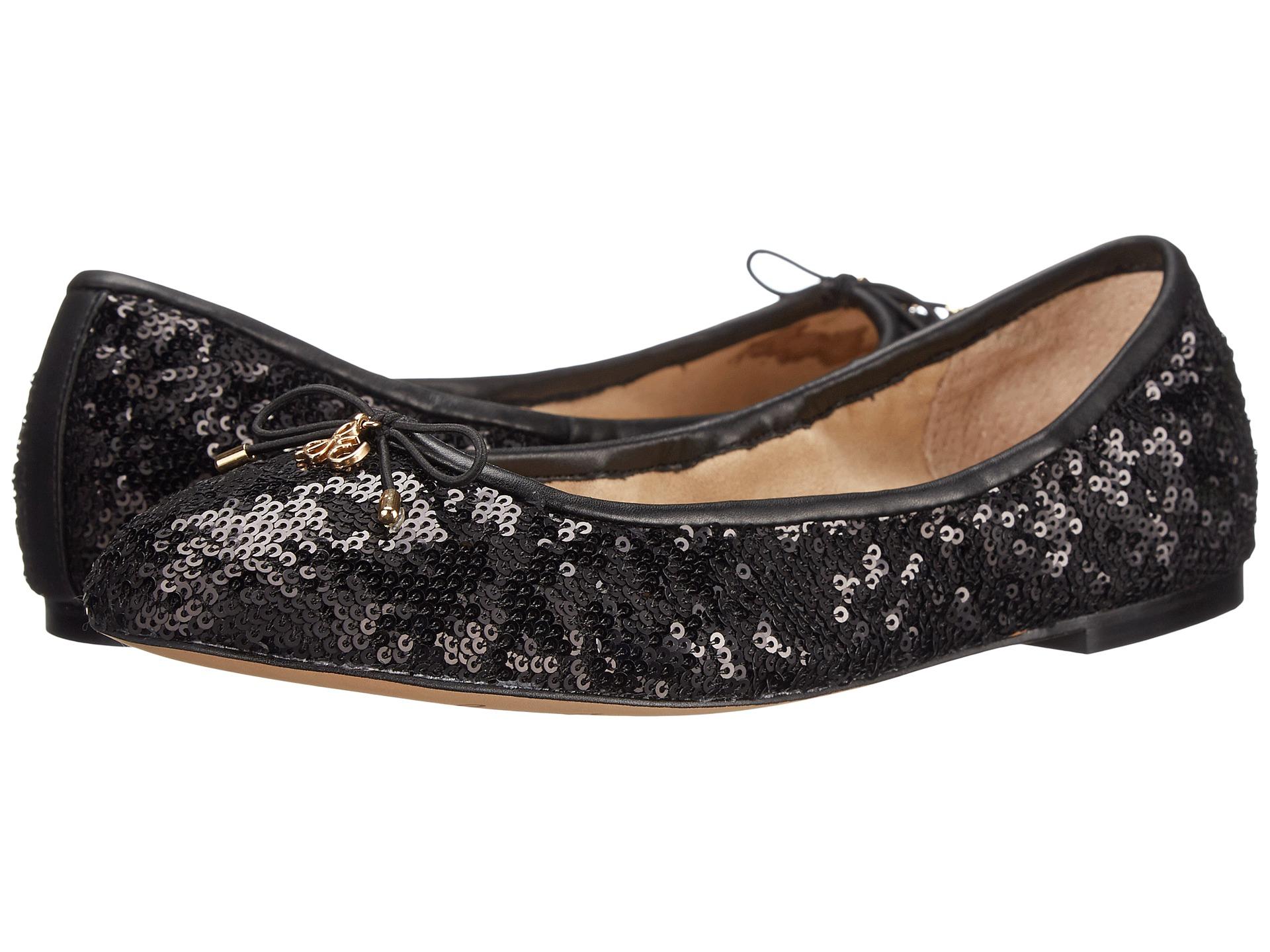 Womens Shoes Sam Edelman Felicia Black Twiggy Sequins
