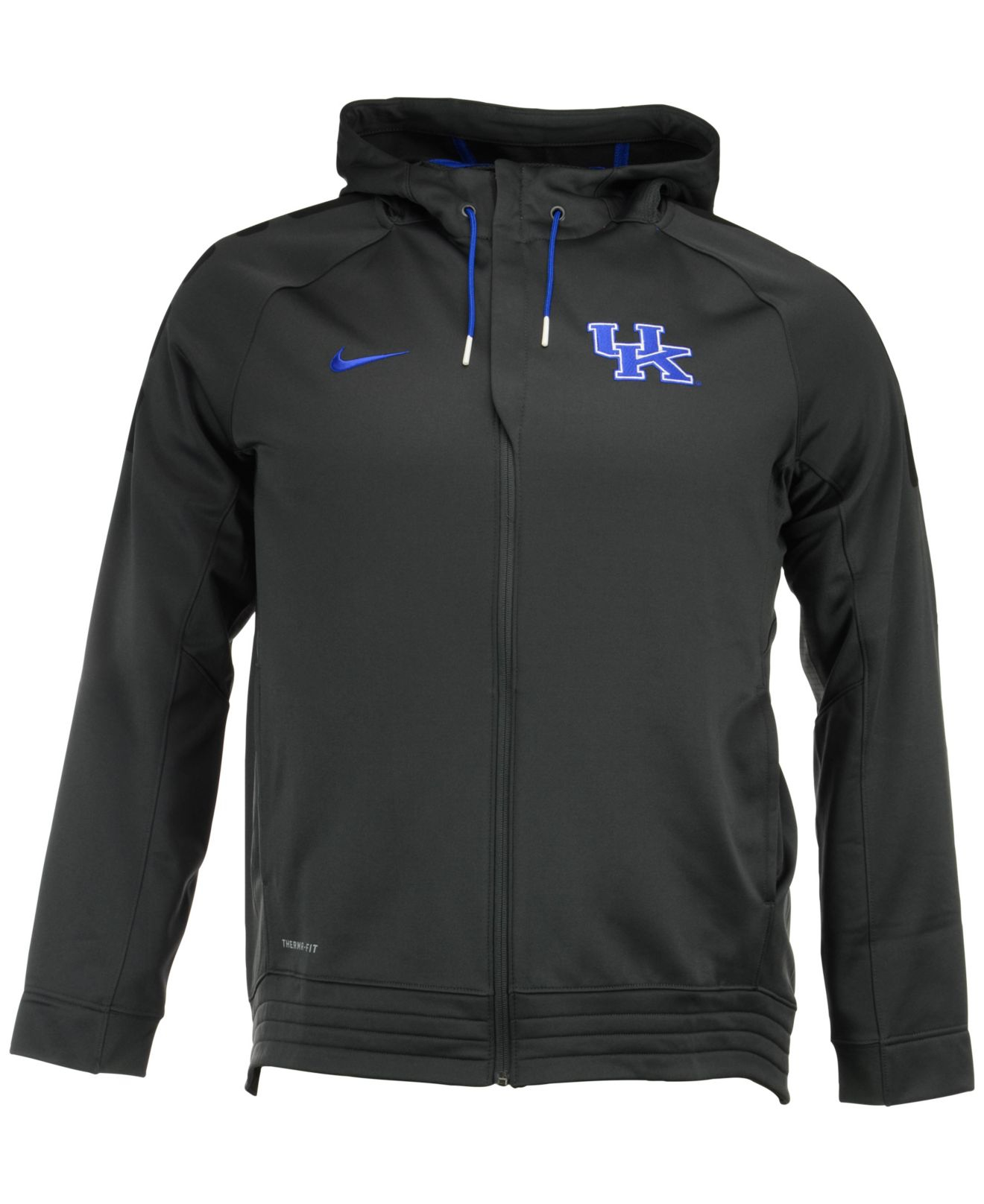 7661ce09 Nike Men's Kentucky Wildcats Elite Stripe Full-zip Hoodie in Gray ...