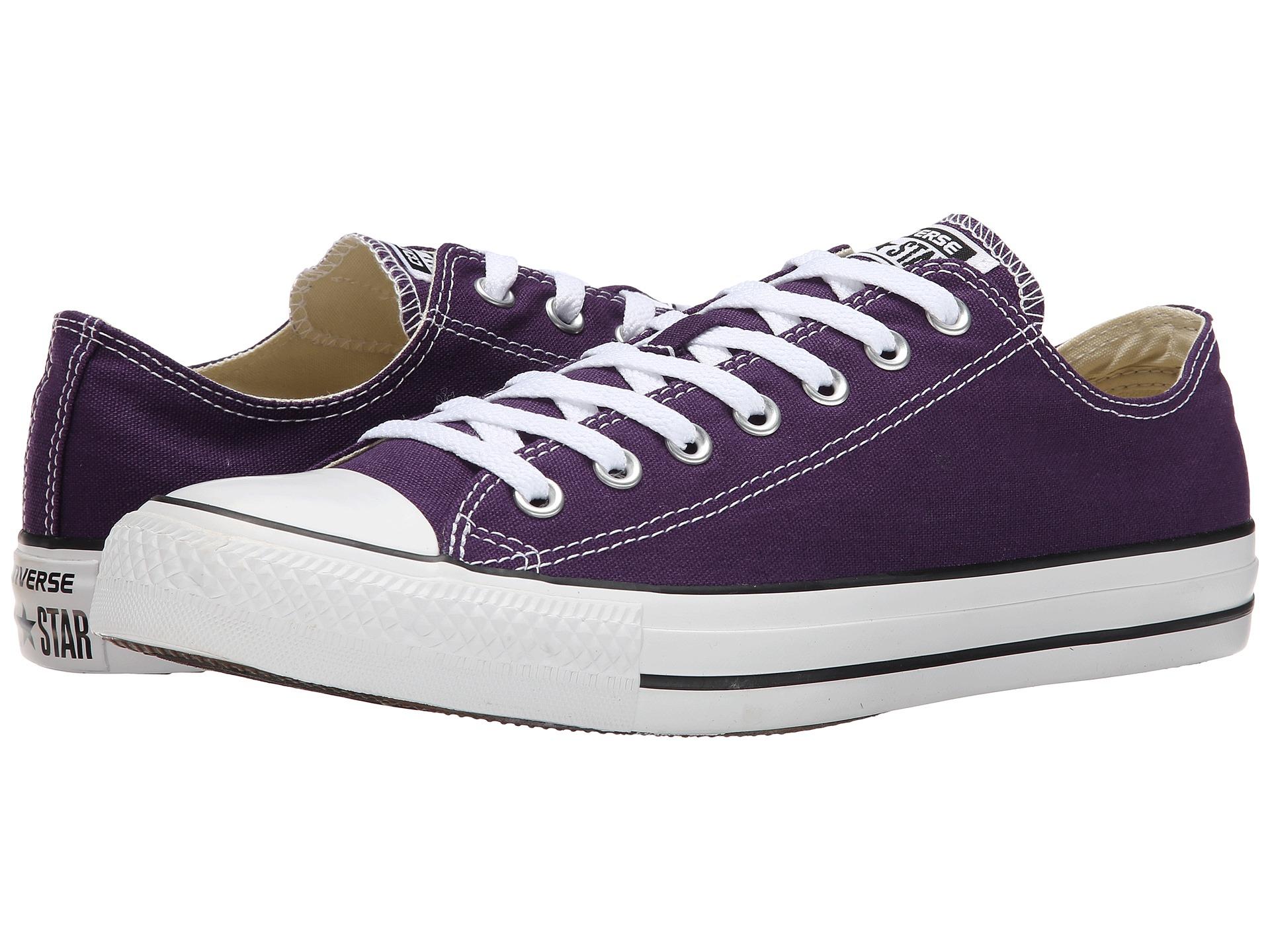 Eggplant Converse Shoes