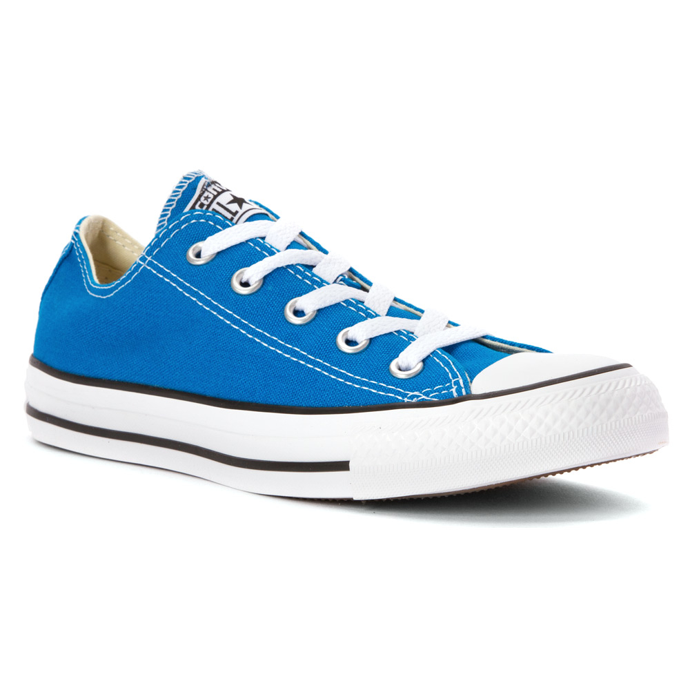 lyst converse chuck taylor all star low top in blue