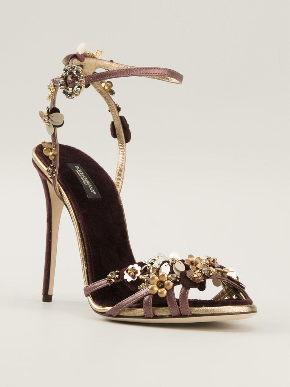 Dolce & Gabbana Strappy Stiletto Heel DJxHYX