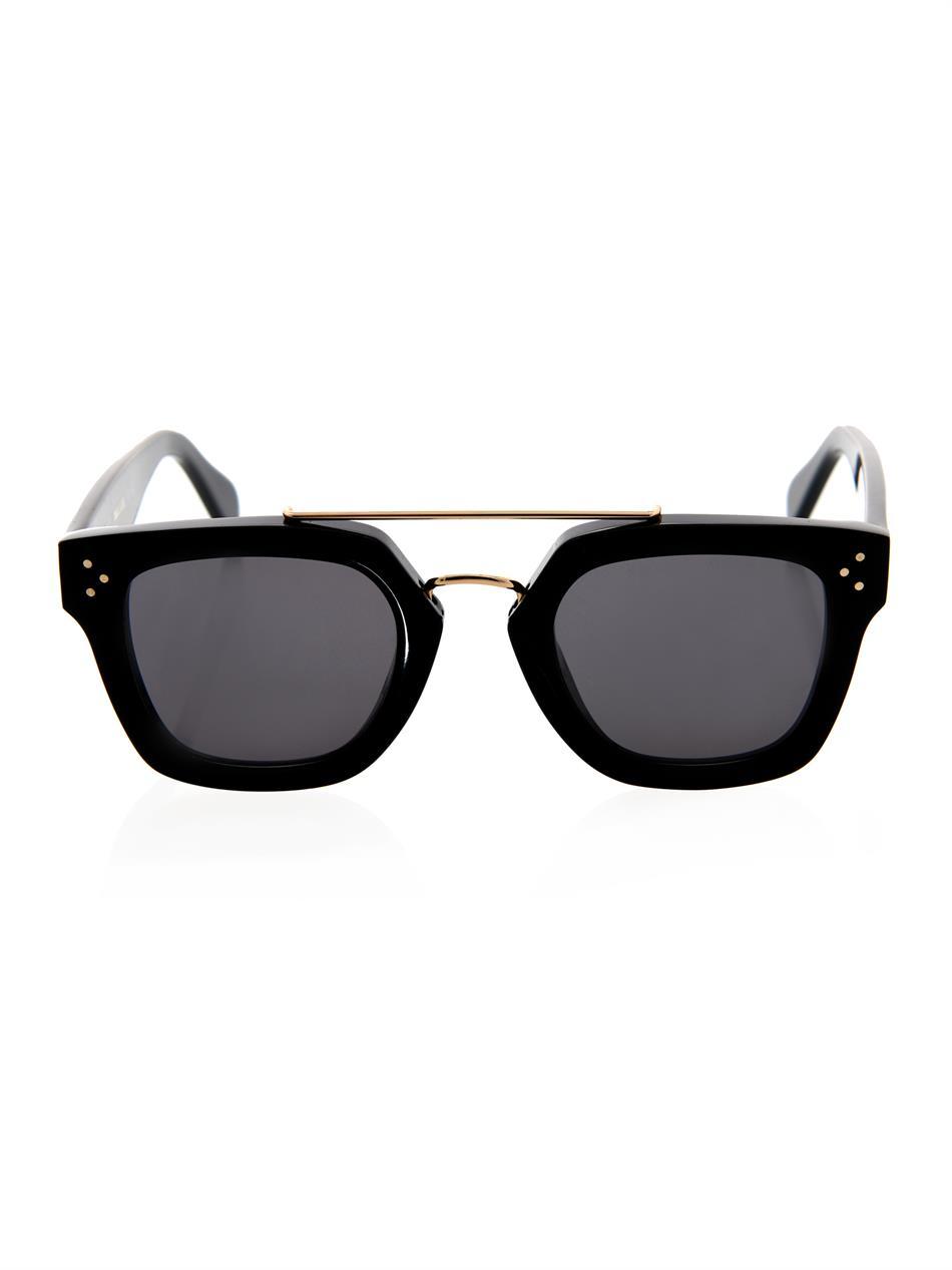 Geometric Sunglasses  céline geometric sunglasses in black lyst