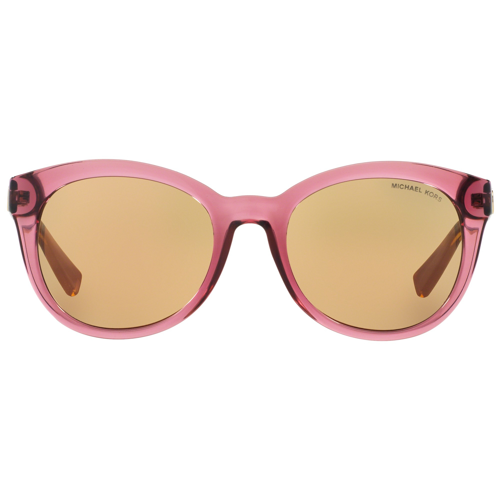 abd2d9d3b4fde Michael Kors Mk6019 Champagne Beach Sunglasses in Pink - Lyst