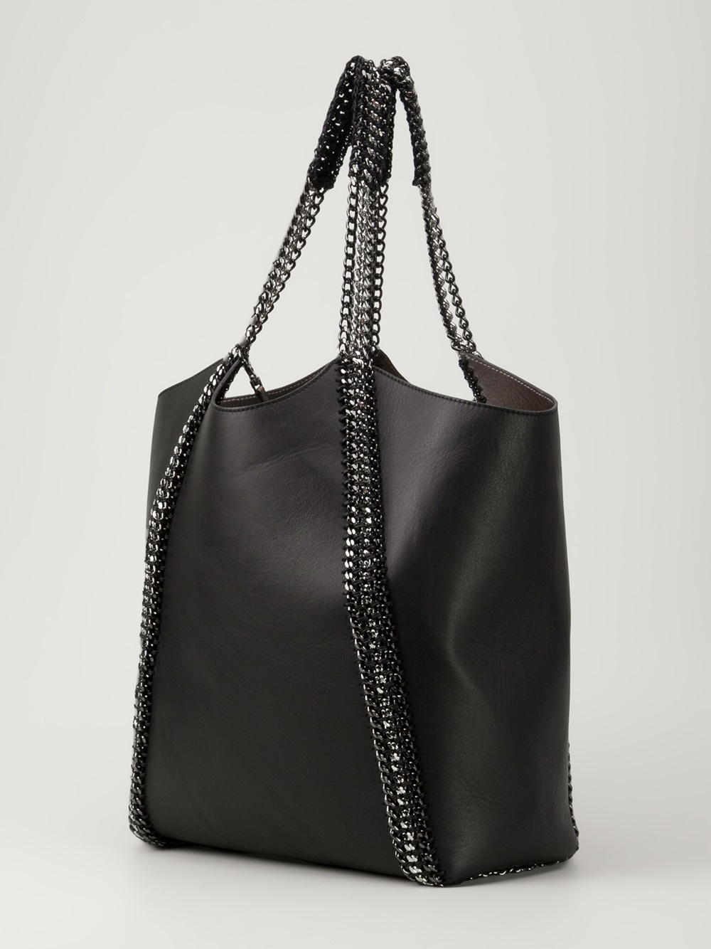 de couture chain link tote bag in black lyst. Black Bedroom Furniture Sets. Home Design Ideas