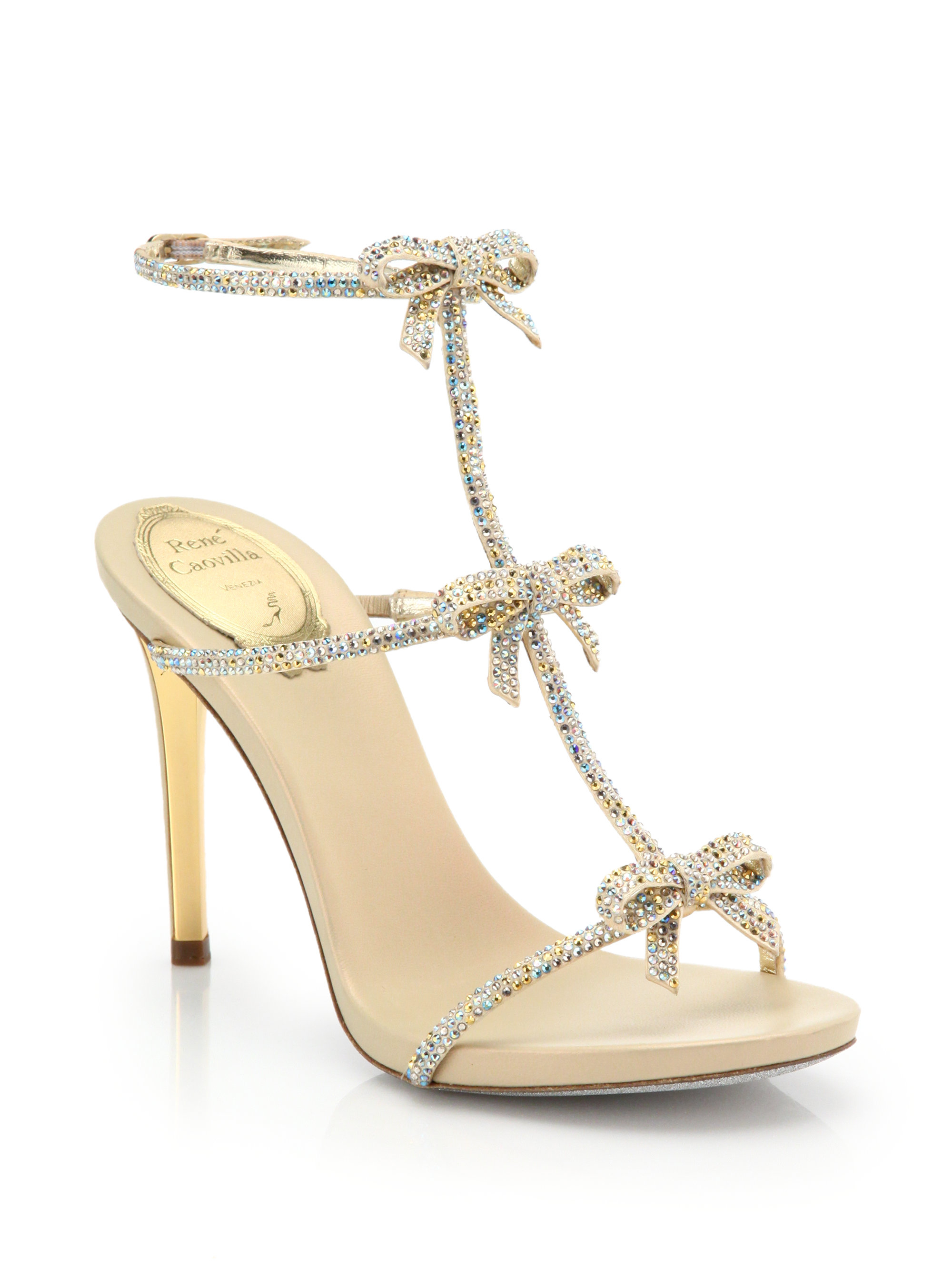 René Caovilla strass embellished sandals cheap best prices clearance outlet store enjoy for sale clearance from china sale comfortable r7UgDlq5