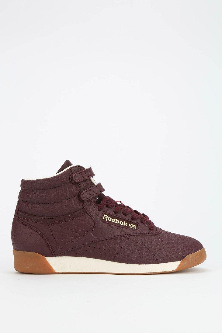 Lyst Reebok Exotics High Top Sneaker In Purple