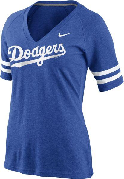Los Angeles Dodgers Matt Kemp Authentic Jersey: Royal Blue Majestic #27 Womens MLB