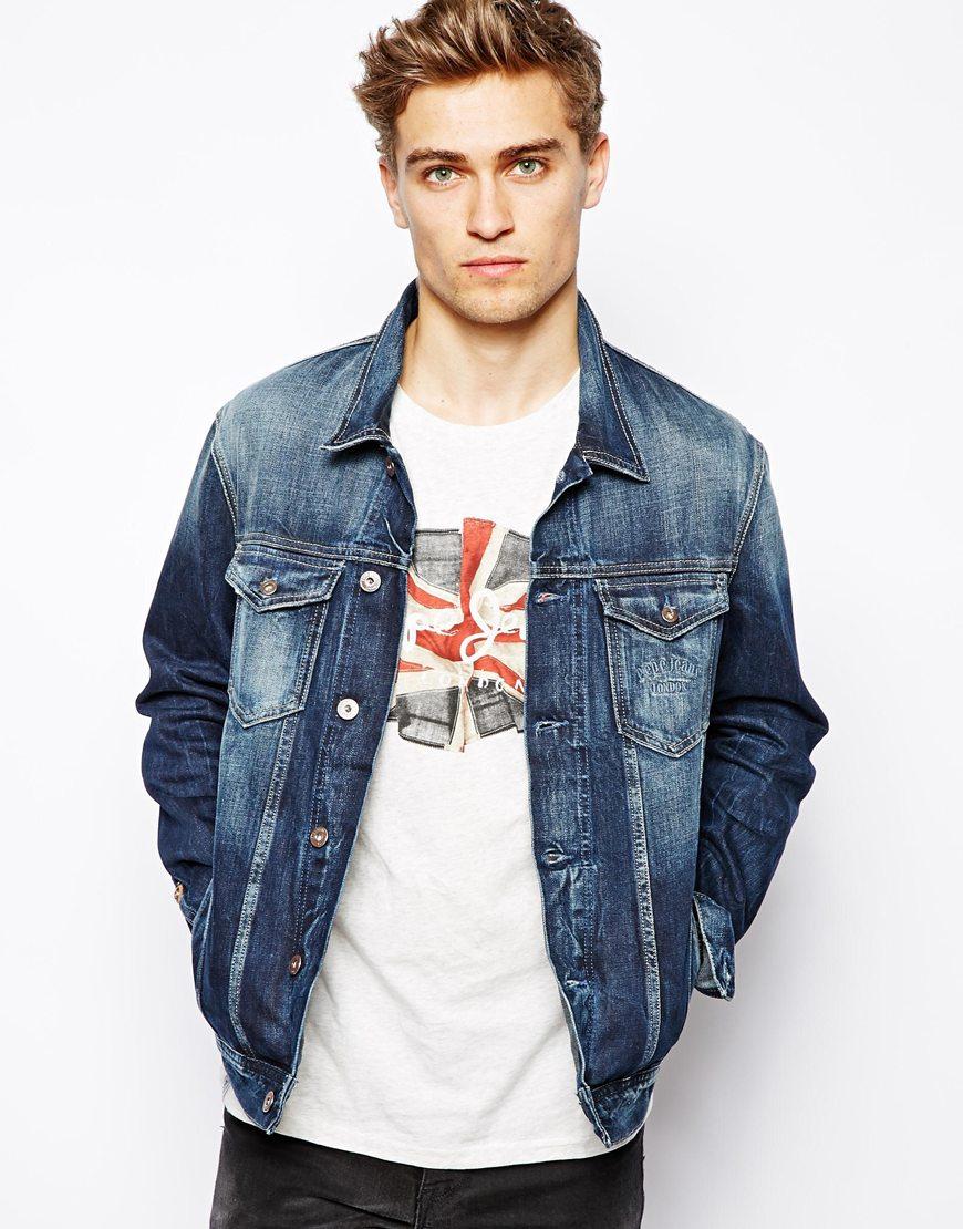 Pepe jeans jacket denim legend