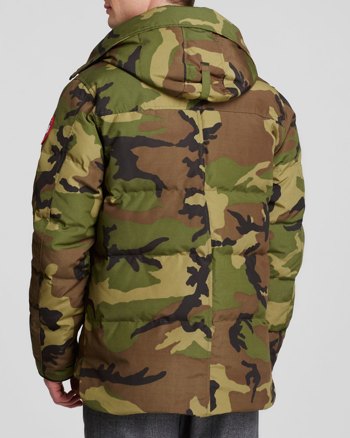 Canada Goose mens online store - Canada goose Macmillan Camouflage-Print Parka Jacket in Green for ...