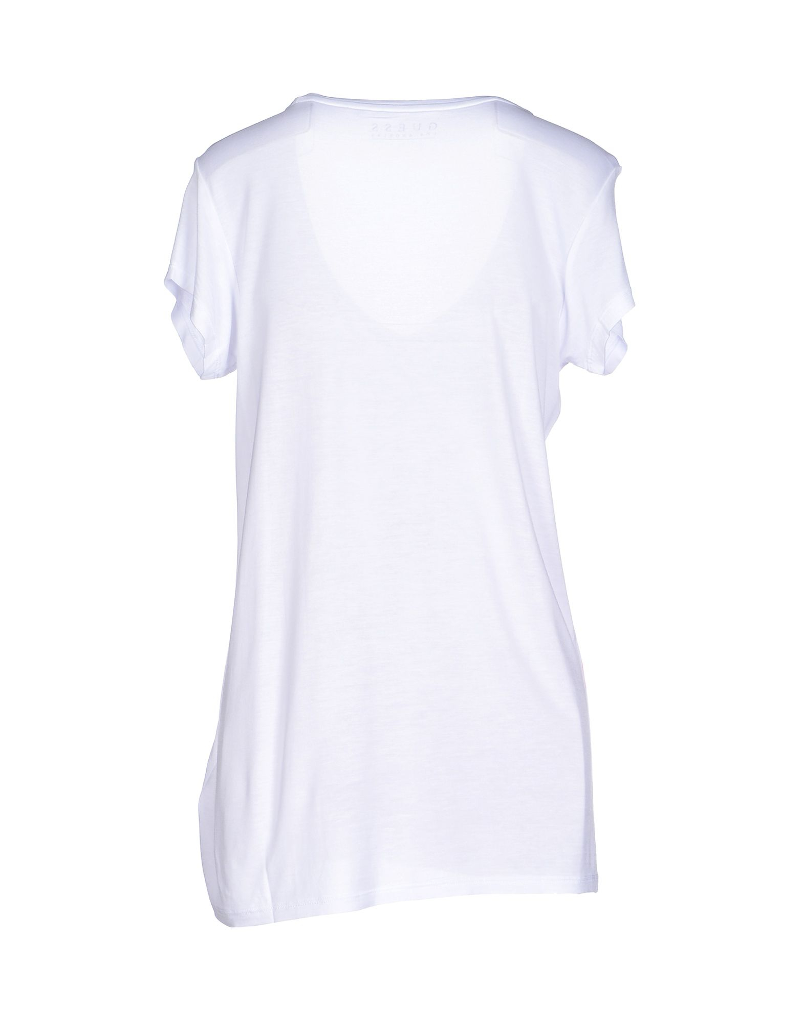 lyst guess t shirt in white. Black Bedroom Furniture Sets. Home Design Ideas