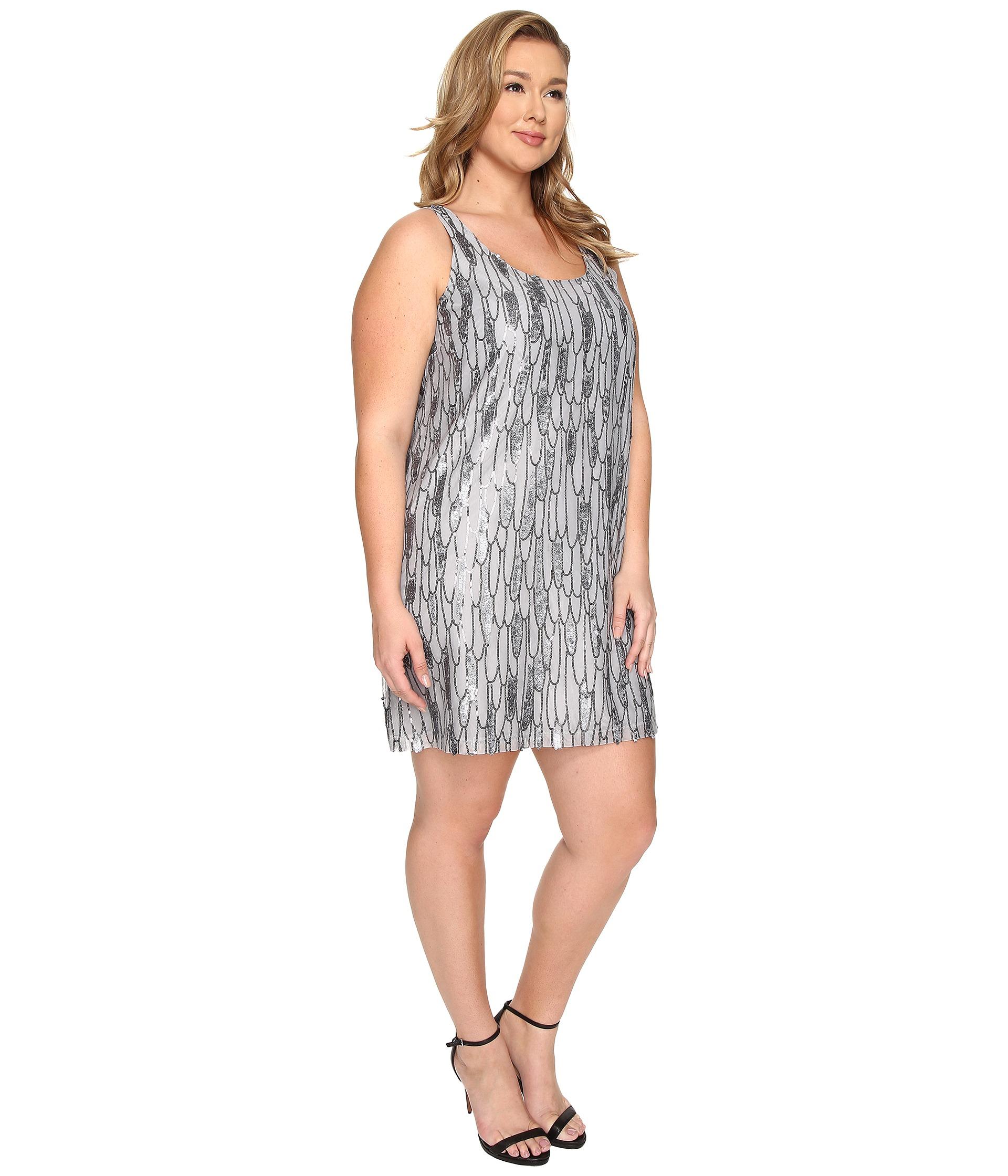 Bb dakota Plus Size Firoella Sequin Tank Dress in Metallic  Lyst