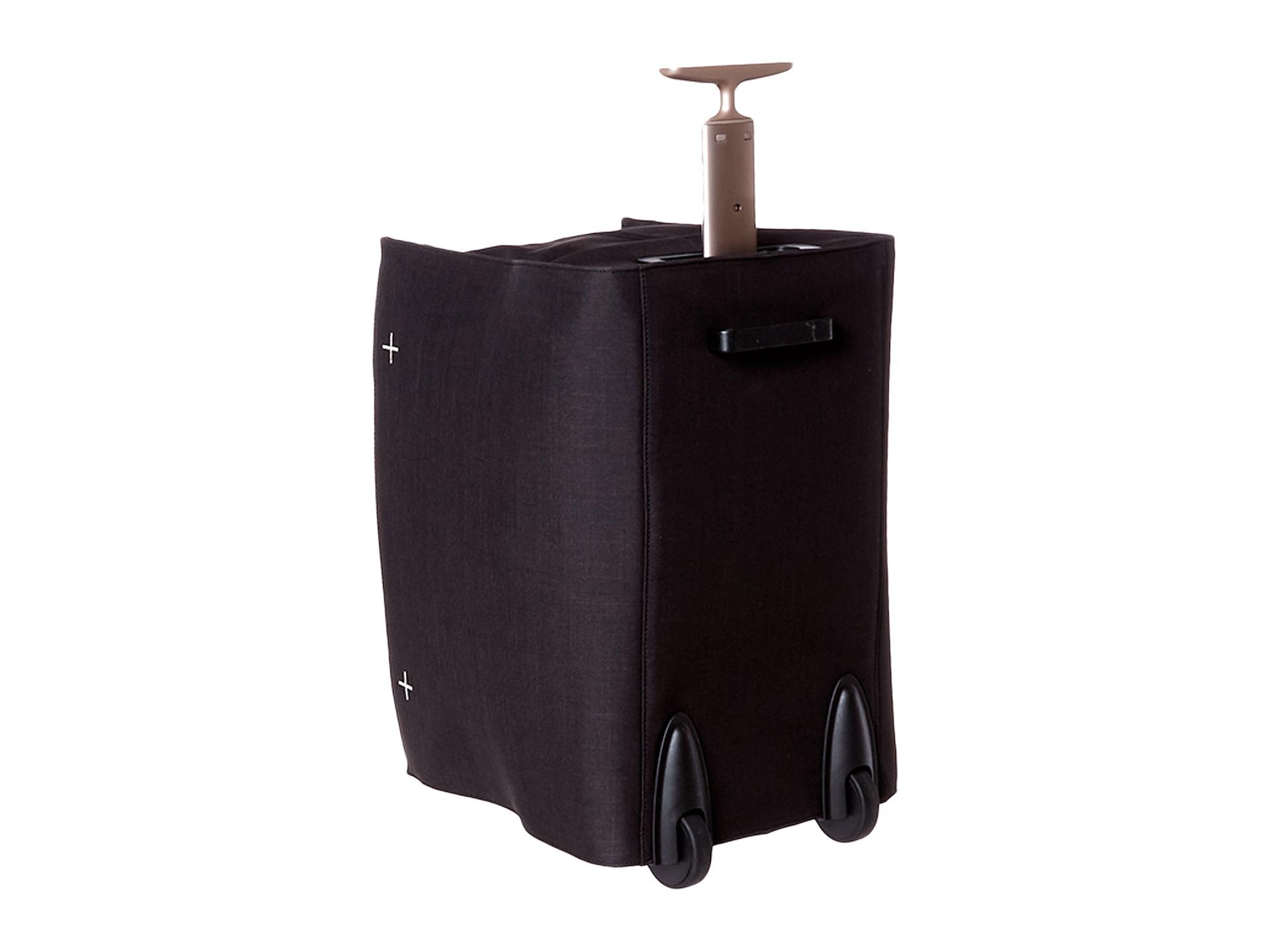 delsey starktrip by osakack international carry on trolley duffel bag in black lyst. Black Bedroom Furniture Sets. Home Design Ideas