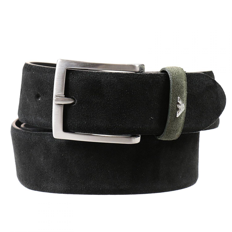 Lyst - Armani Jeans Belt in Black for Men
