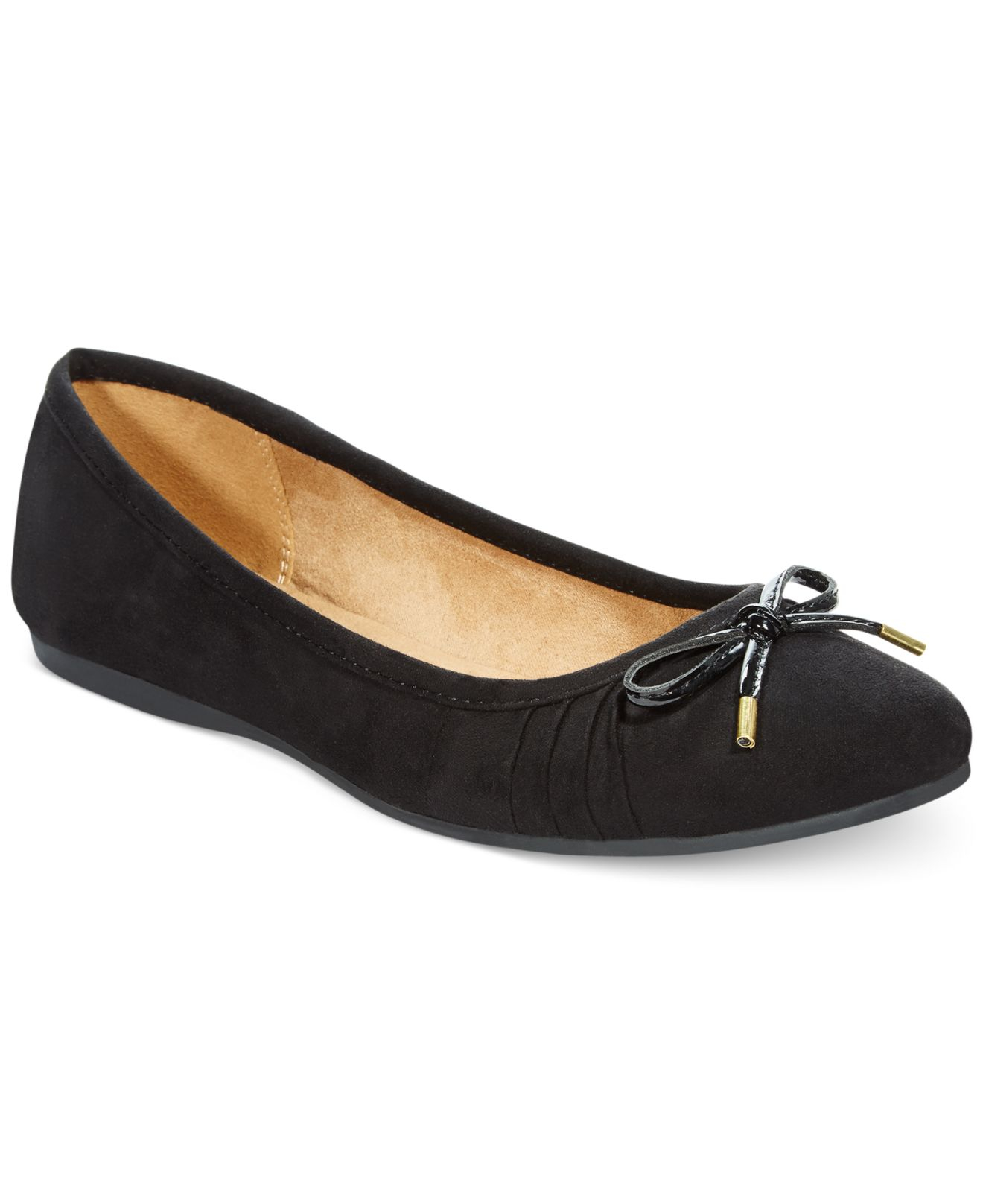 Lyst Style Amp Co Addia Ballet Flats Only At Macy S In Black
