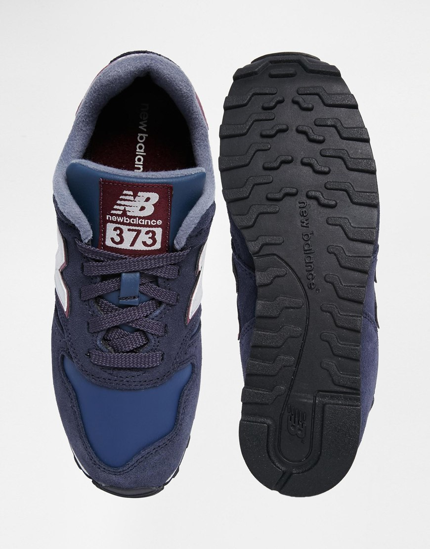 sports shoes c27f4 24254 germany new balance burgundy 373 trainers fbb82 a8979