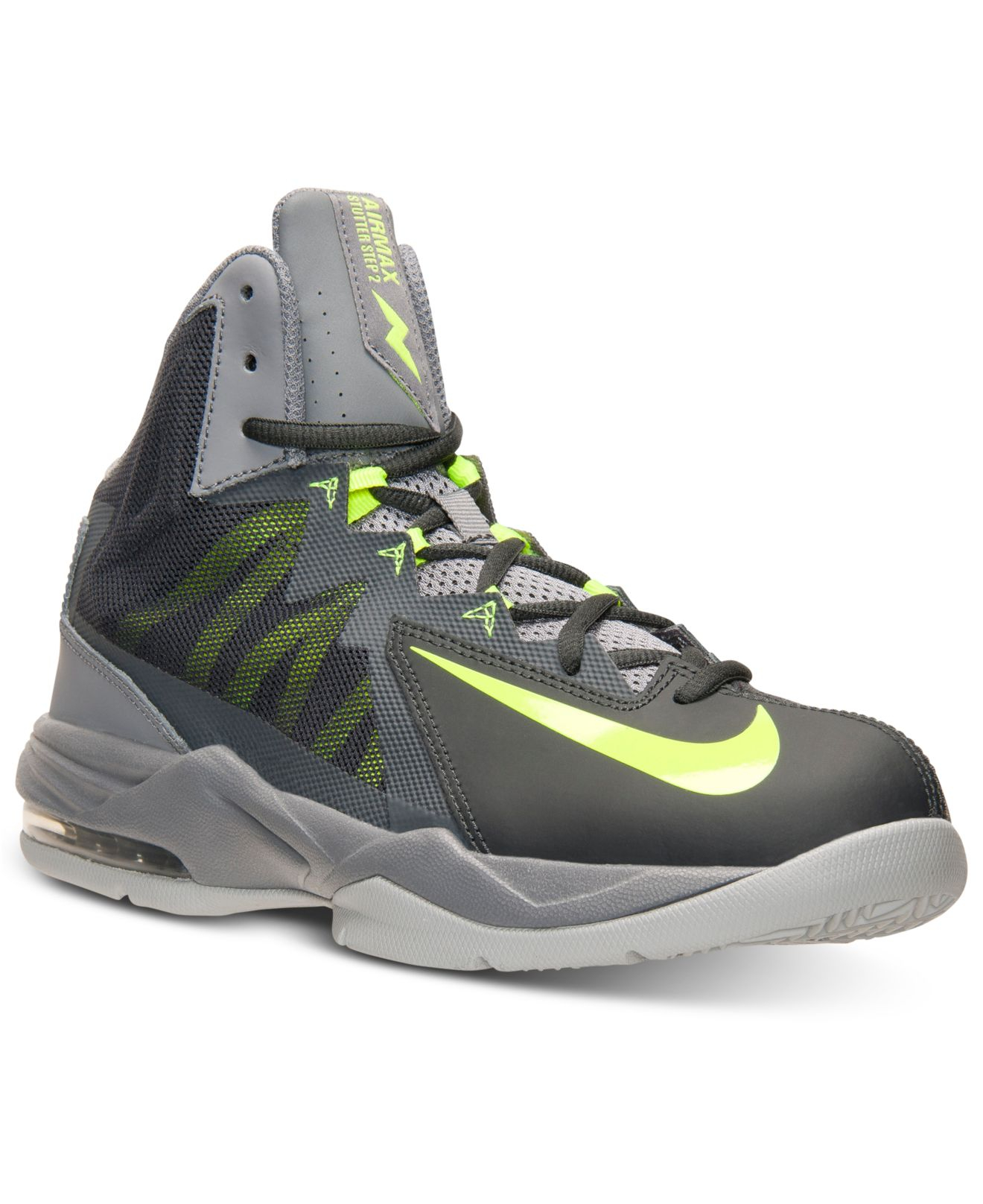 0f90bc2f1561 ... authentic lyst nike mens air max stutter step 2 basketball sneakers  from ada5a 05daa ...