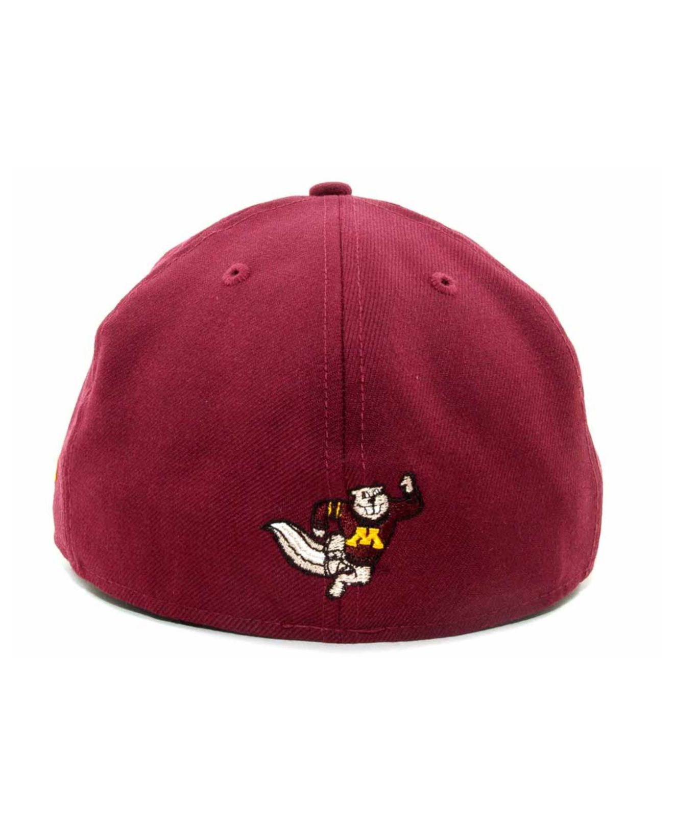 brand new 89b8d ee3d0 ... low cost lyst ktz minnesota golden gophers 2 tone 59fifty cap in red  for men 1c85e