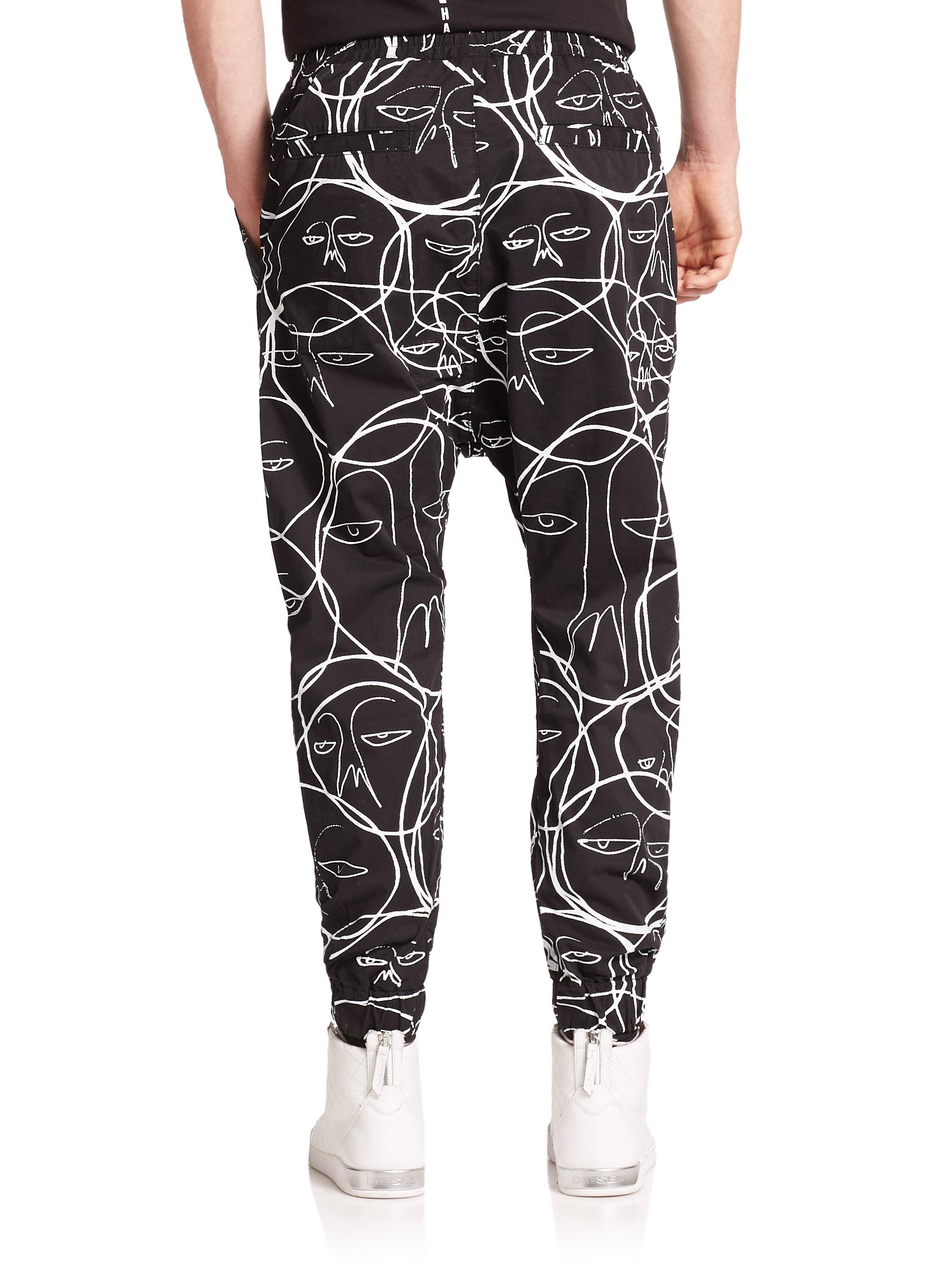 Lyst - Haculla One Of A Kind Harem Pants in Black for Men