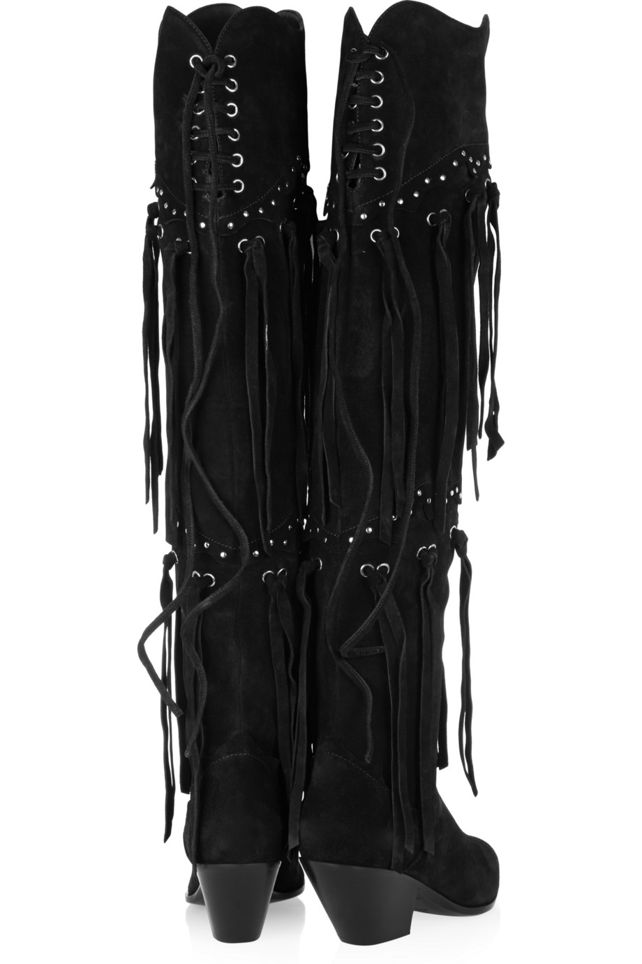 visit sale online Giuseppe Zanotti Suede Fringe Over-The-Knee Boots buy cheap for sale sQlAGXlMPo