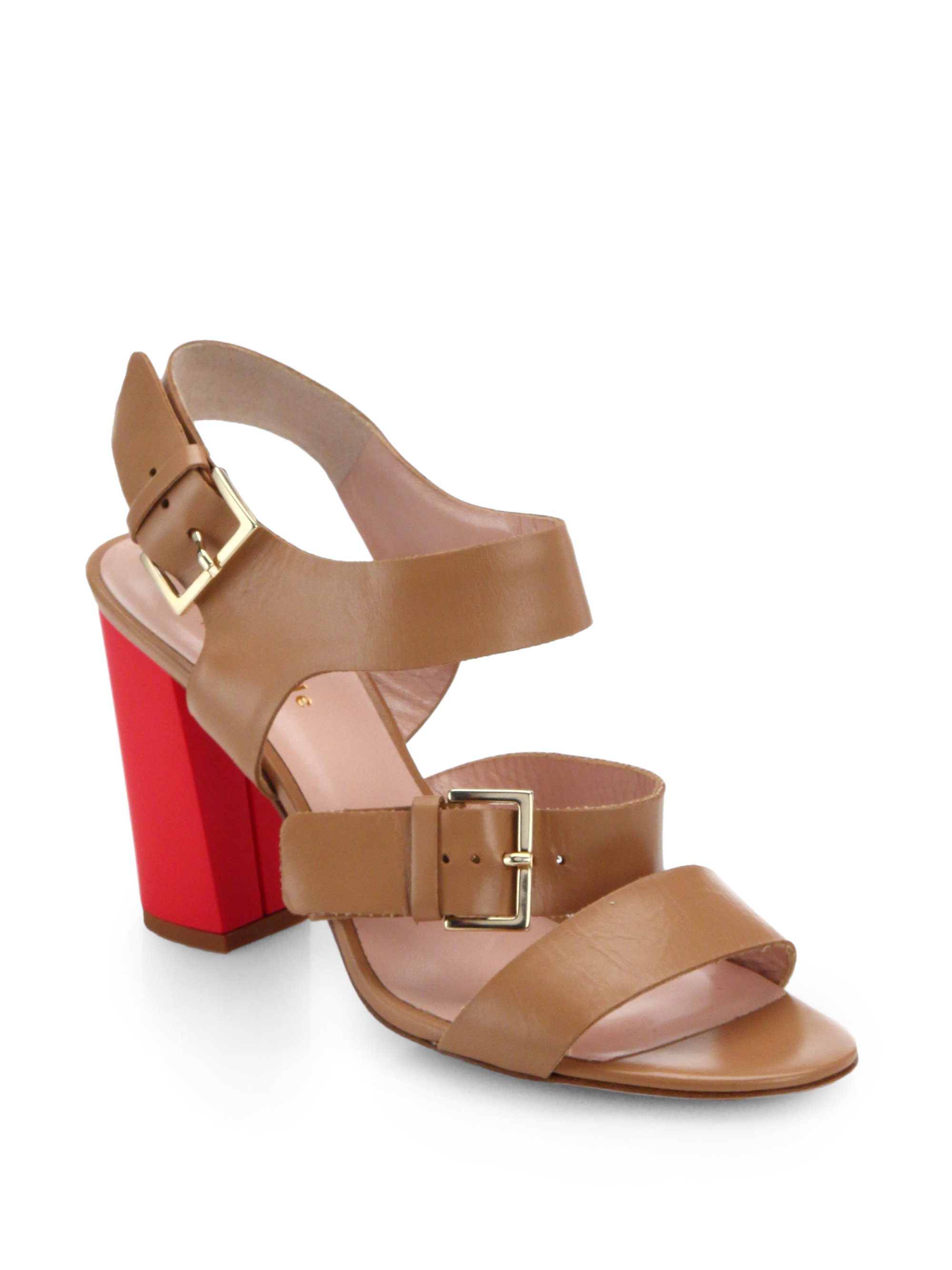 Kate Spade New York Orson Block-Heel Sandals U9nRm